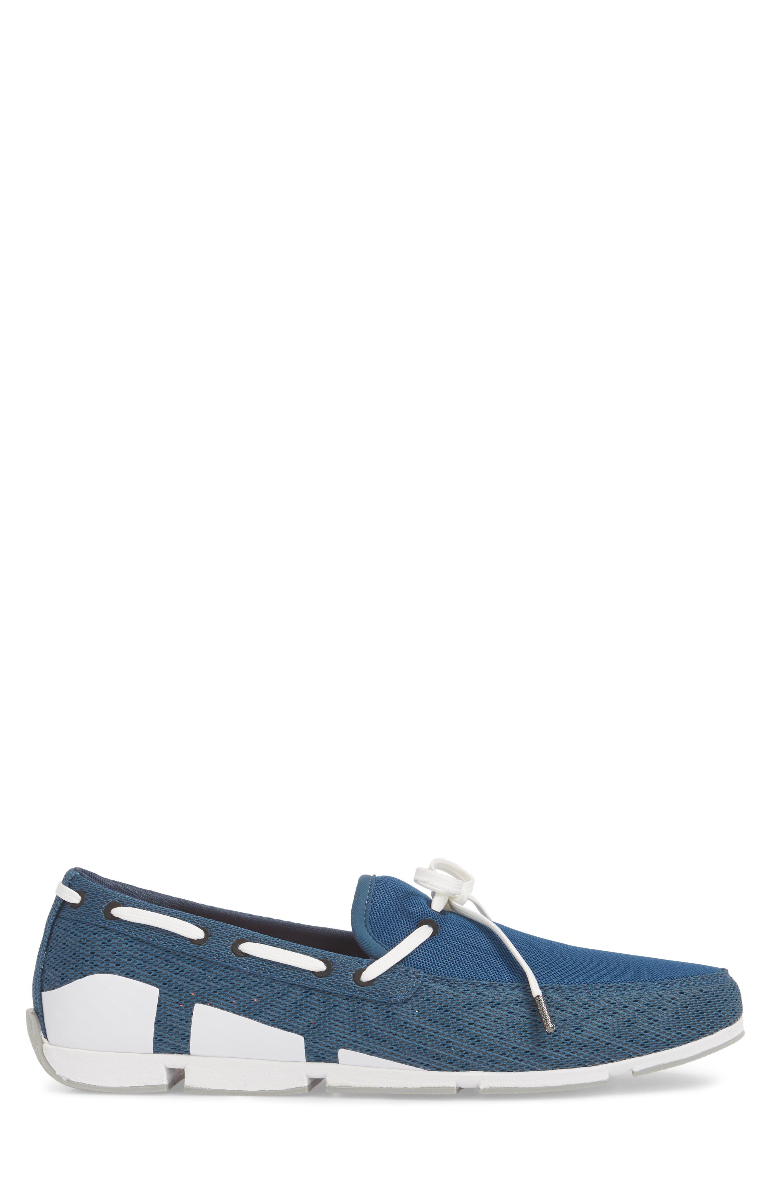 Breeze Loafer,                             Alternate thumbnail 3, color,                             Blue/ White
