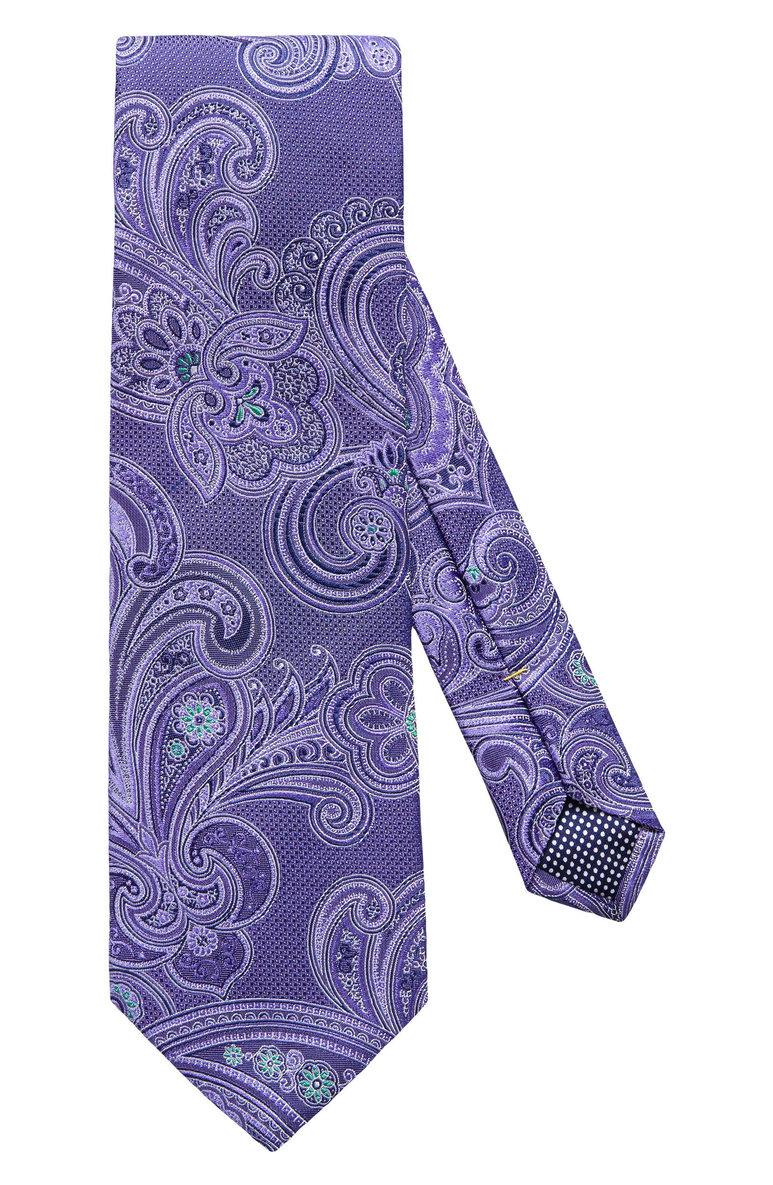 Eton Paisley Silk Tie