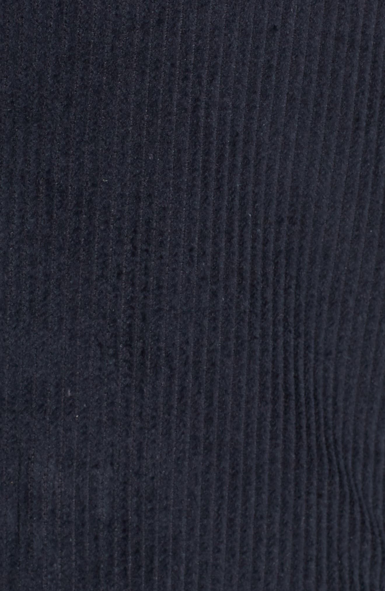 Double Breasted Corduroy Blazer,                             Alternate thumbnail 6, color,                             Navy Sapphire
