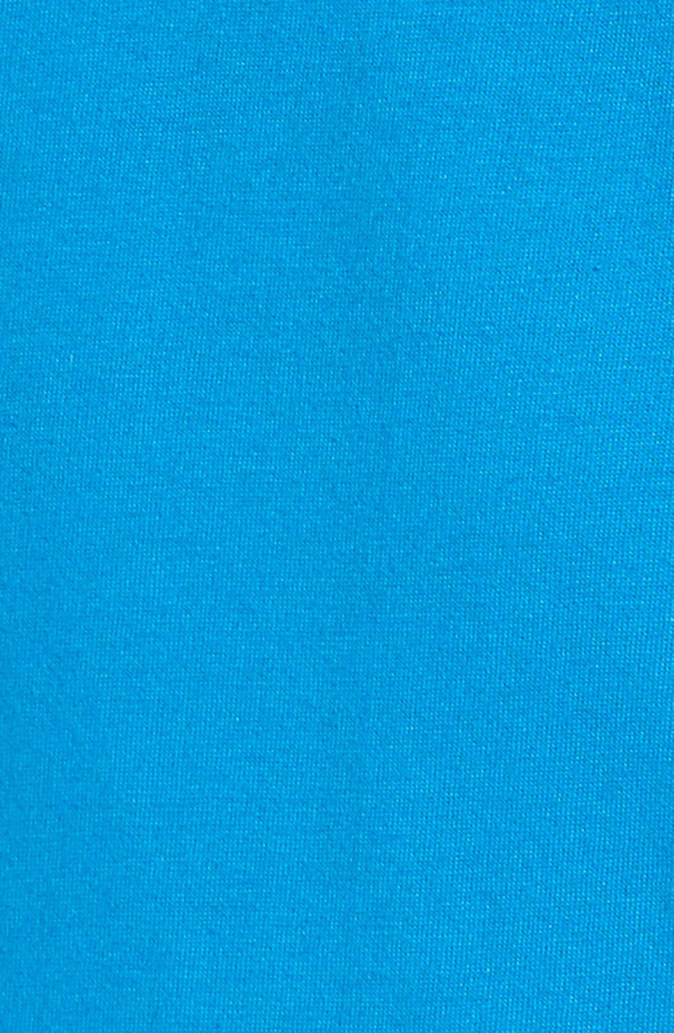 Fisher Graphic T-Shirt,                             Alternate thumbnail 5, color,                             Brilliant Blue