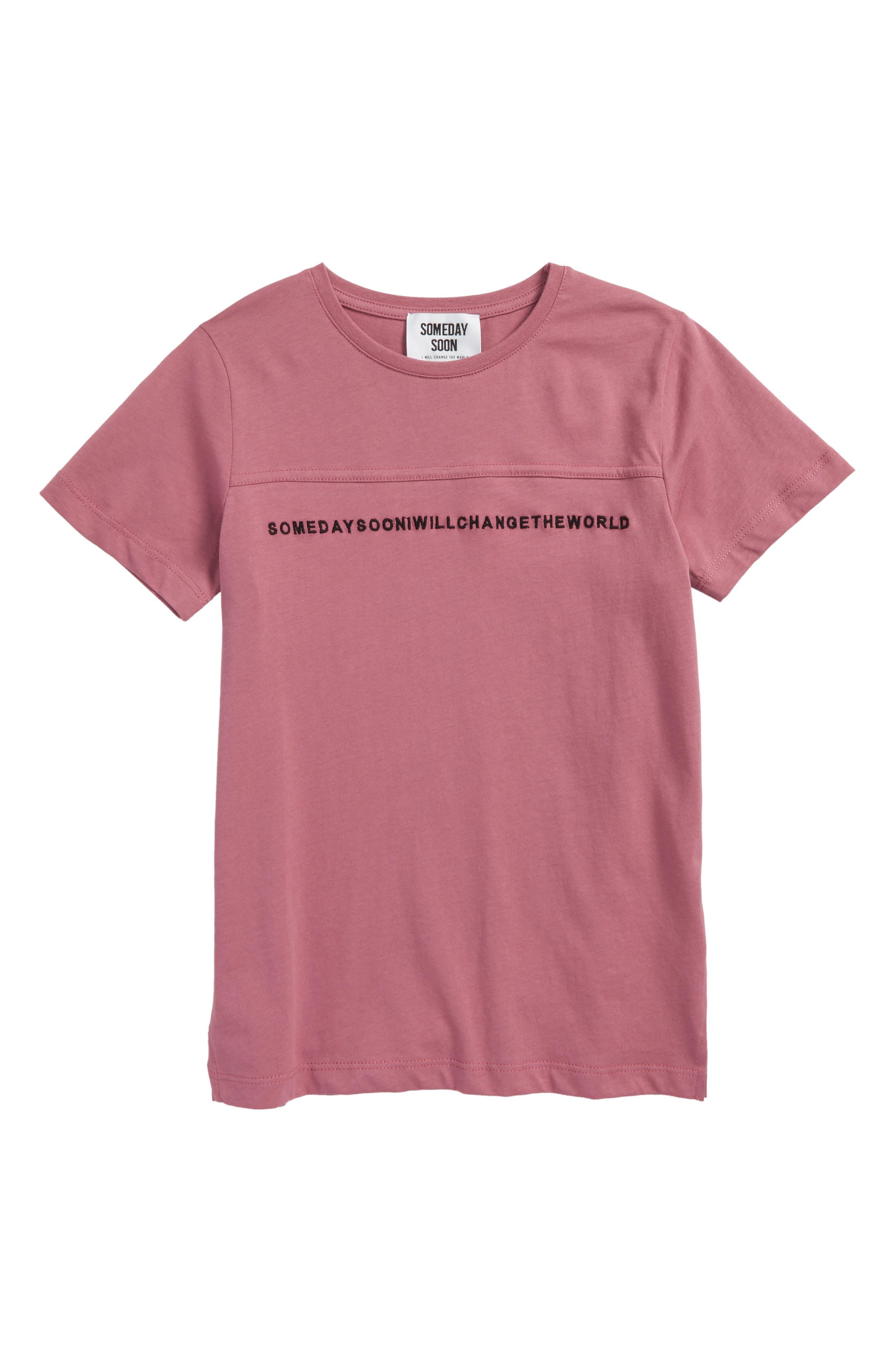 Leandro T-Shirt,                             Main thumbnail 1, color,                             Pink