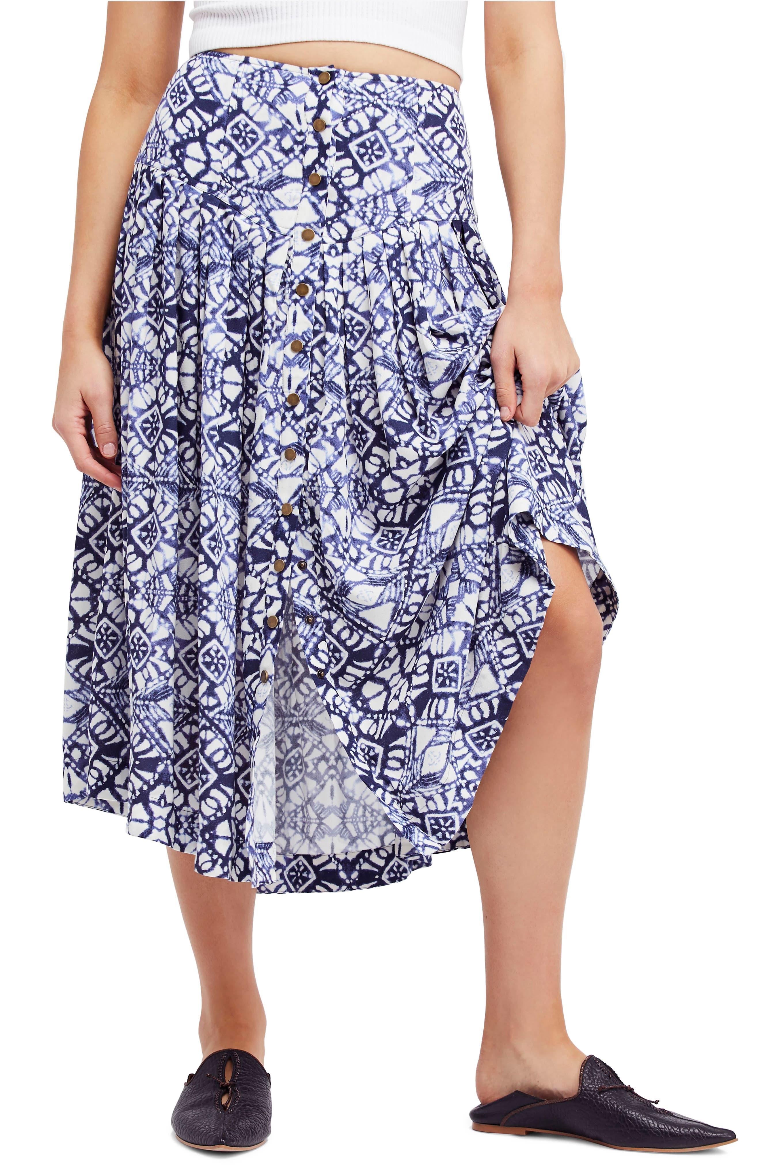 Lovers Dream Midi Skirt,                         Main,                         color, Black