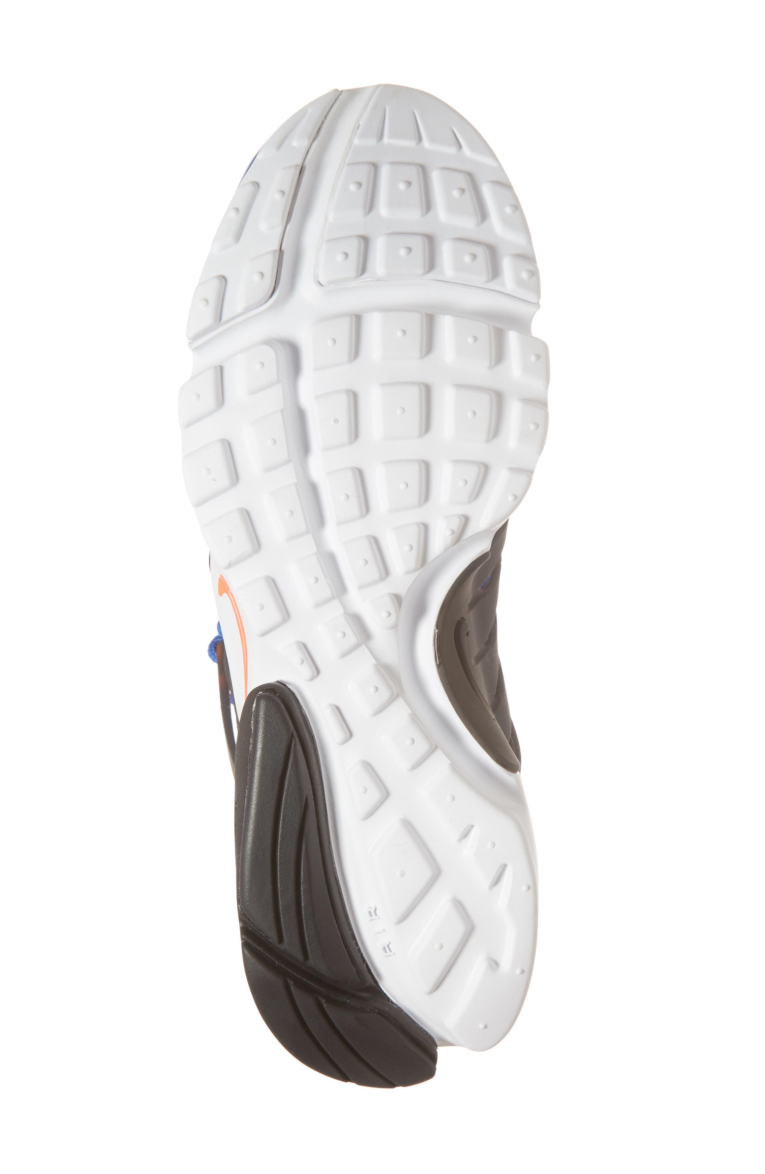 Air Presto Ultra Breathe Sneaker,                             Alternate thumbnail 6, color,                             Racer Blue/ Total Crimson
