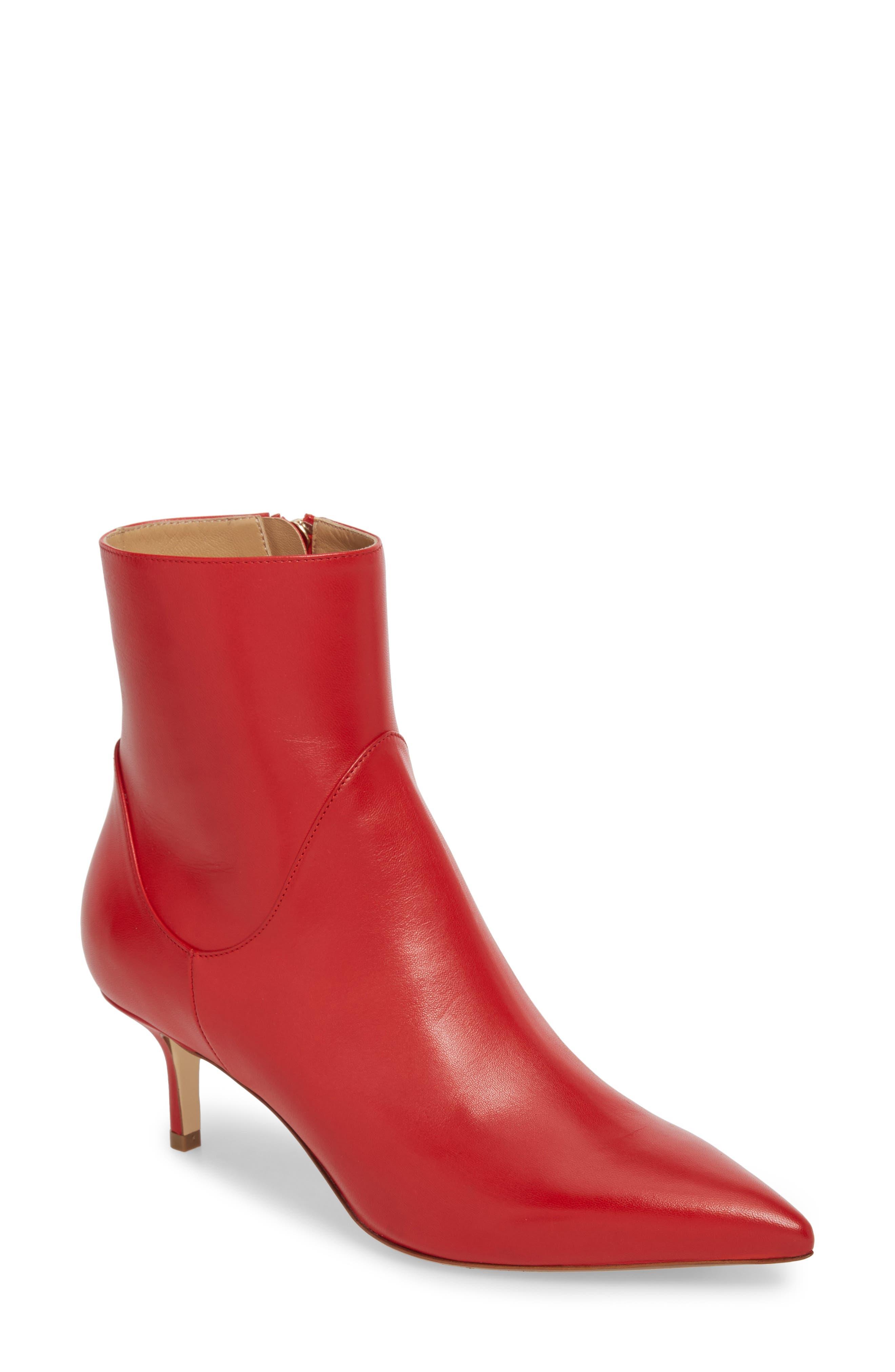 Francesco Russo Pointy Toe Bootie (Women)