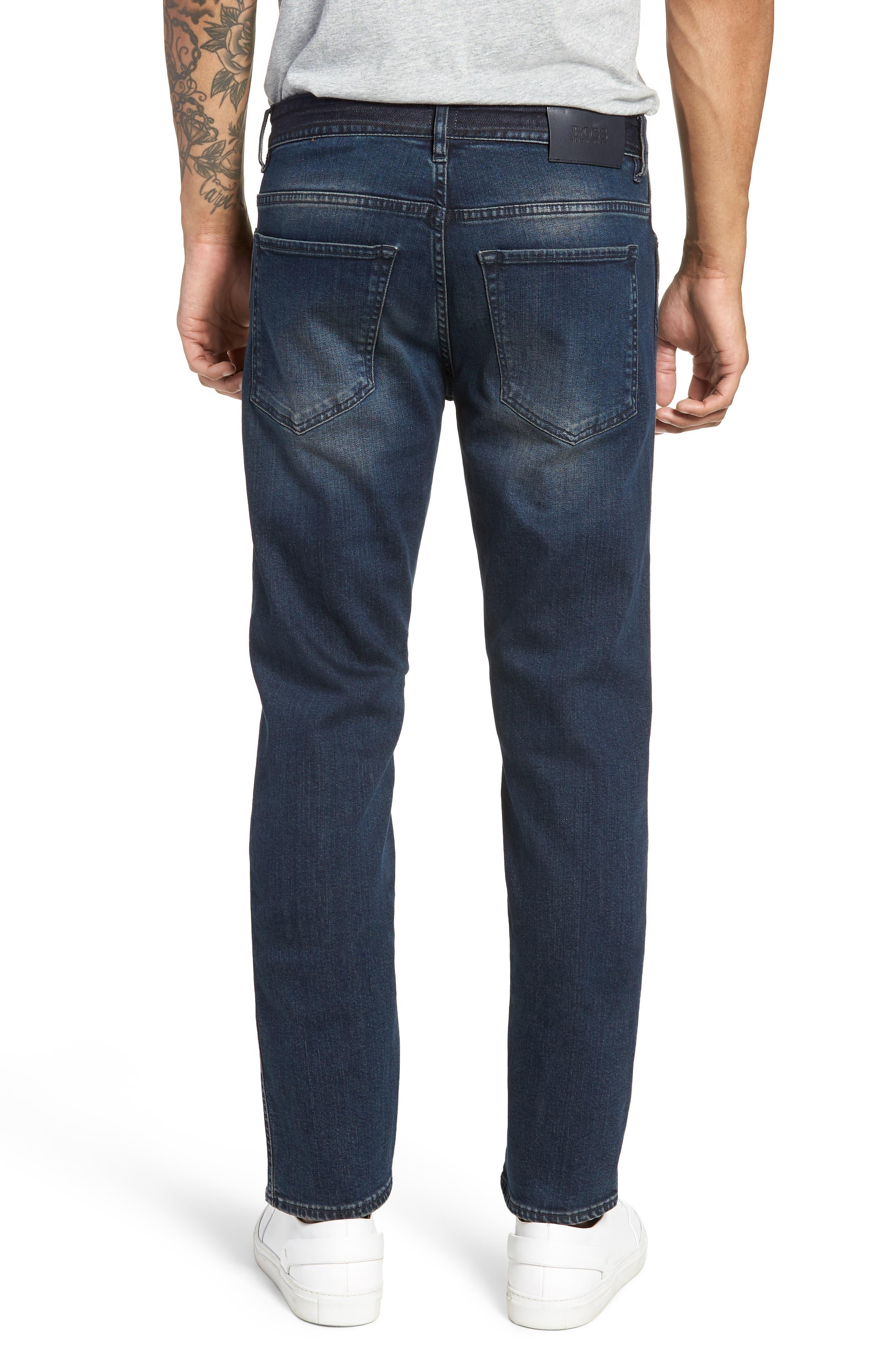 Delaware Slim Fit Jeans,                             Alternate thumbnail 2, color,                             Blue