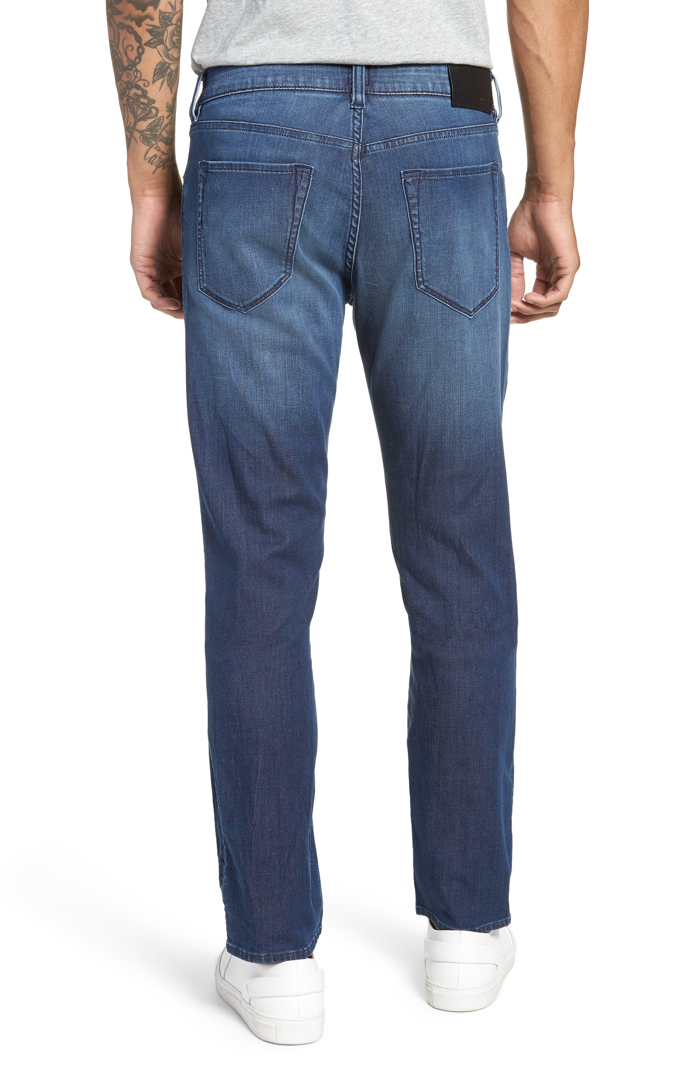Maine Straight Leg Jeans,                             Alternate thumbnail 2, color,                             Blue