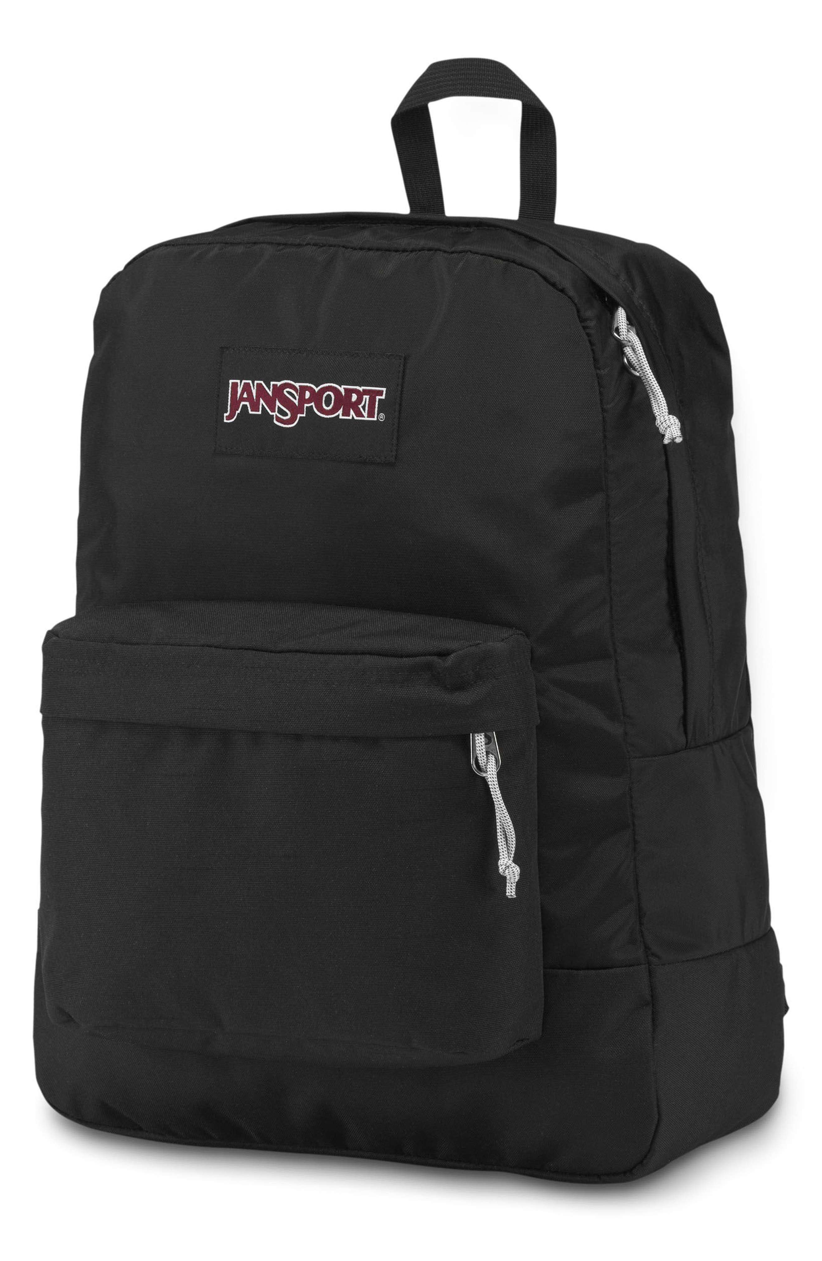 Black Label SuperBreak Backpack,                             Alternate thumbnail 3, color,                             Black