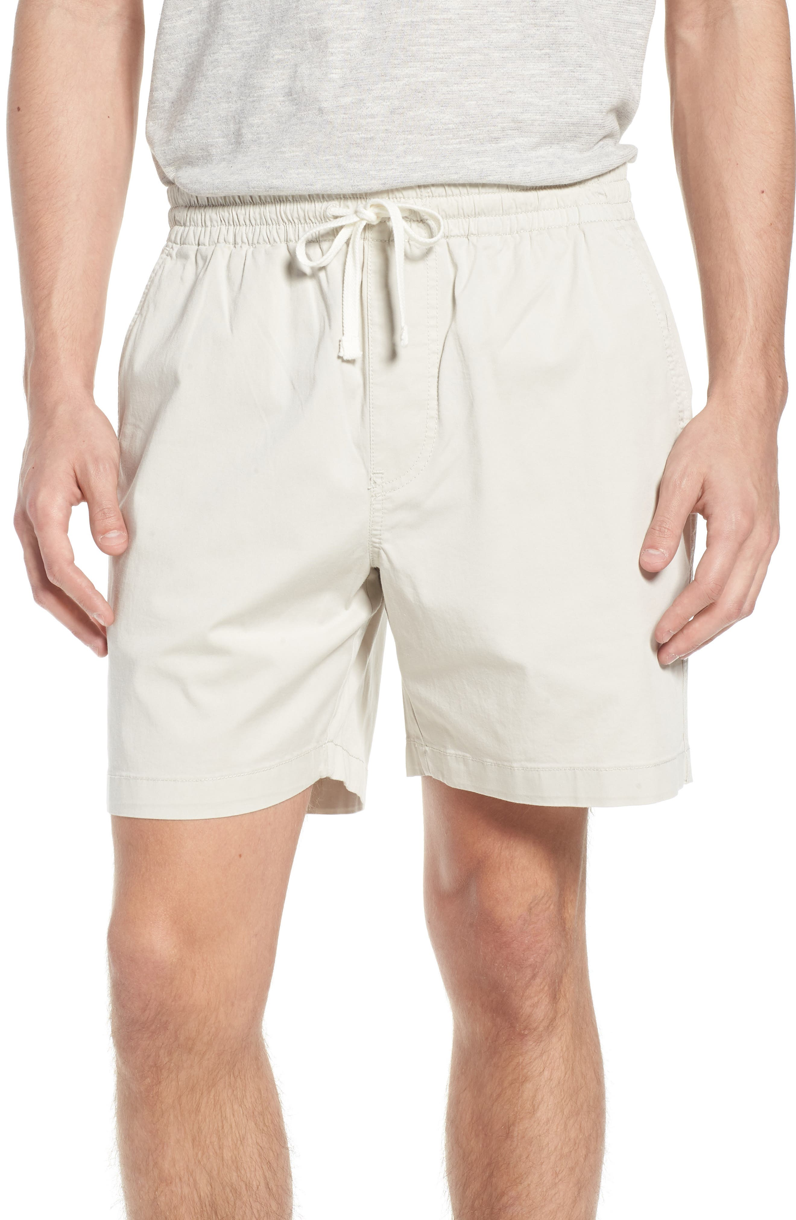 Stretch Chino Dock Shorts,                         Main,                         color, Stone