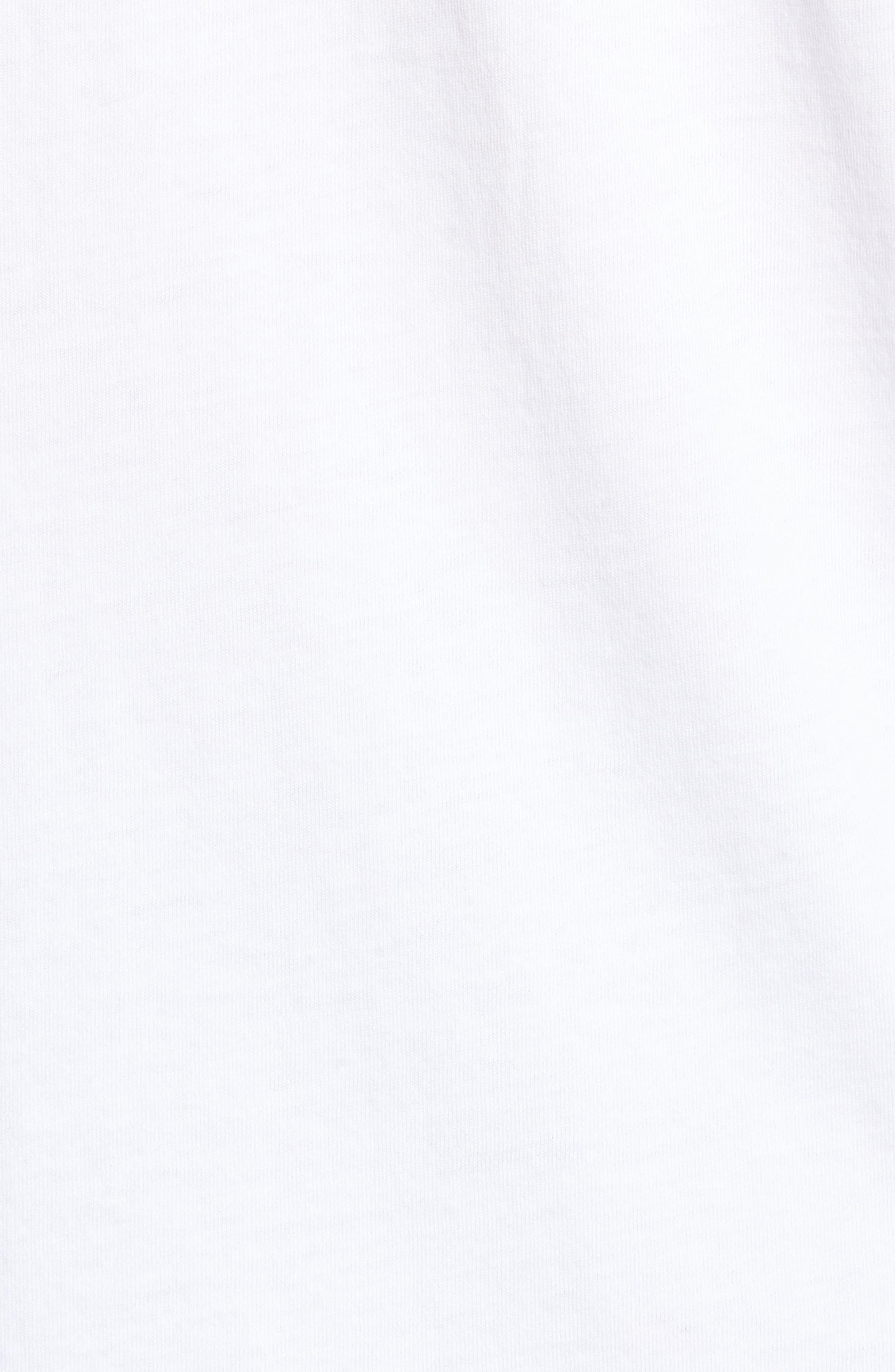 Parrot Pair T-Shirt,                             Alternate thumbnail 5, color,                             White
