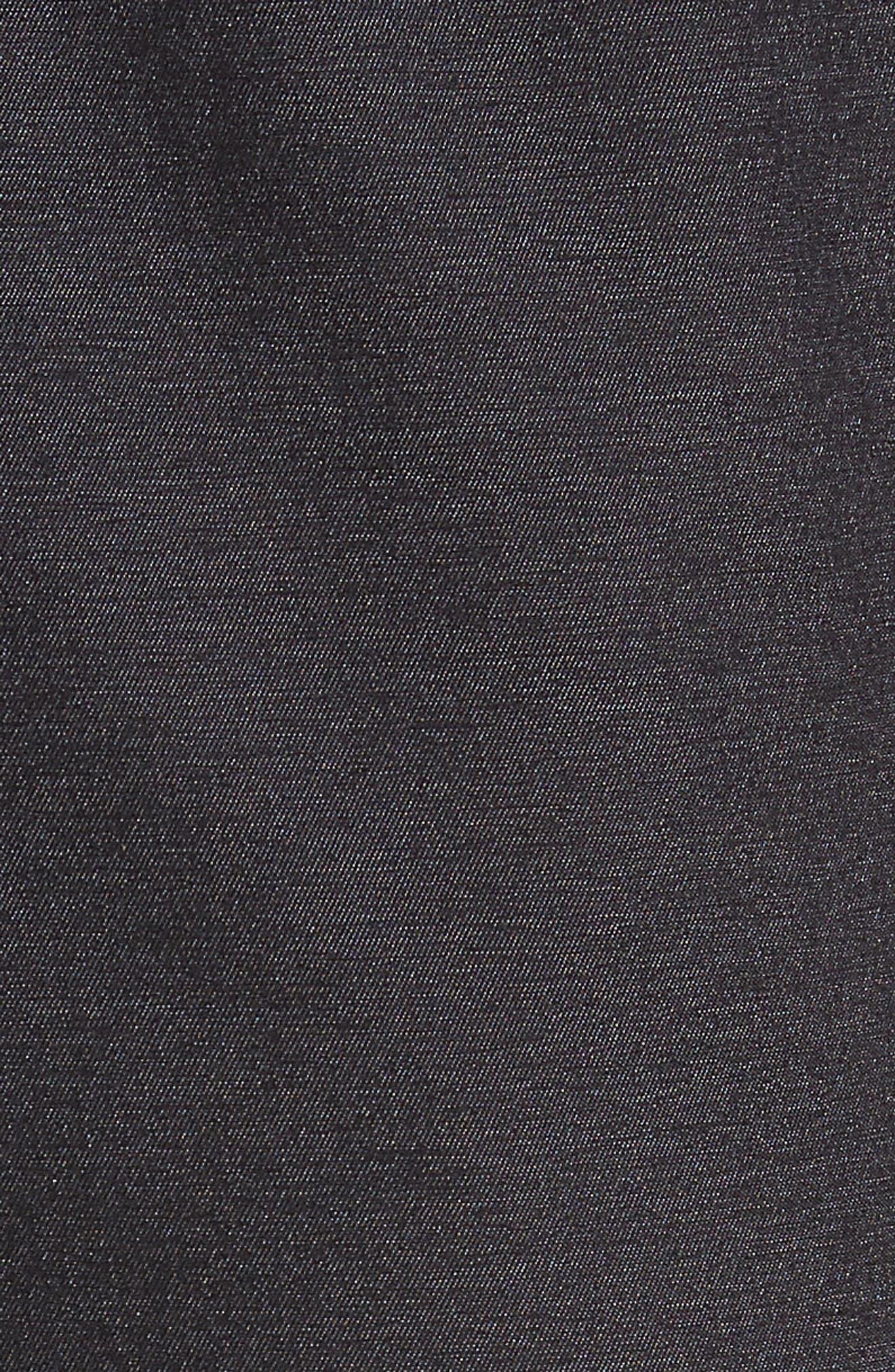 Relay Lounge Pants,                             Alternate thumbnail 5, color,                             Heather Black