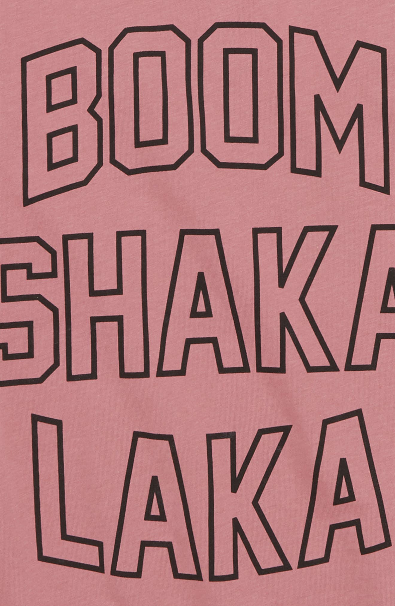 Jazzy T-Shirt,                             Alternate thumbnail 2, color,                             Pink
