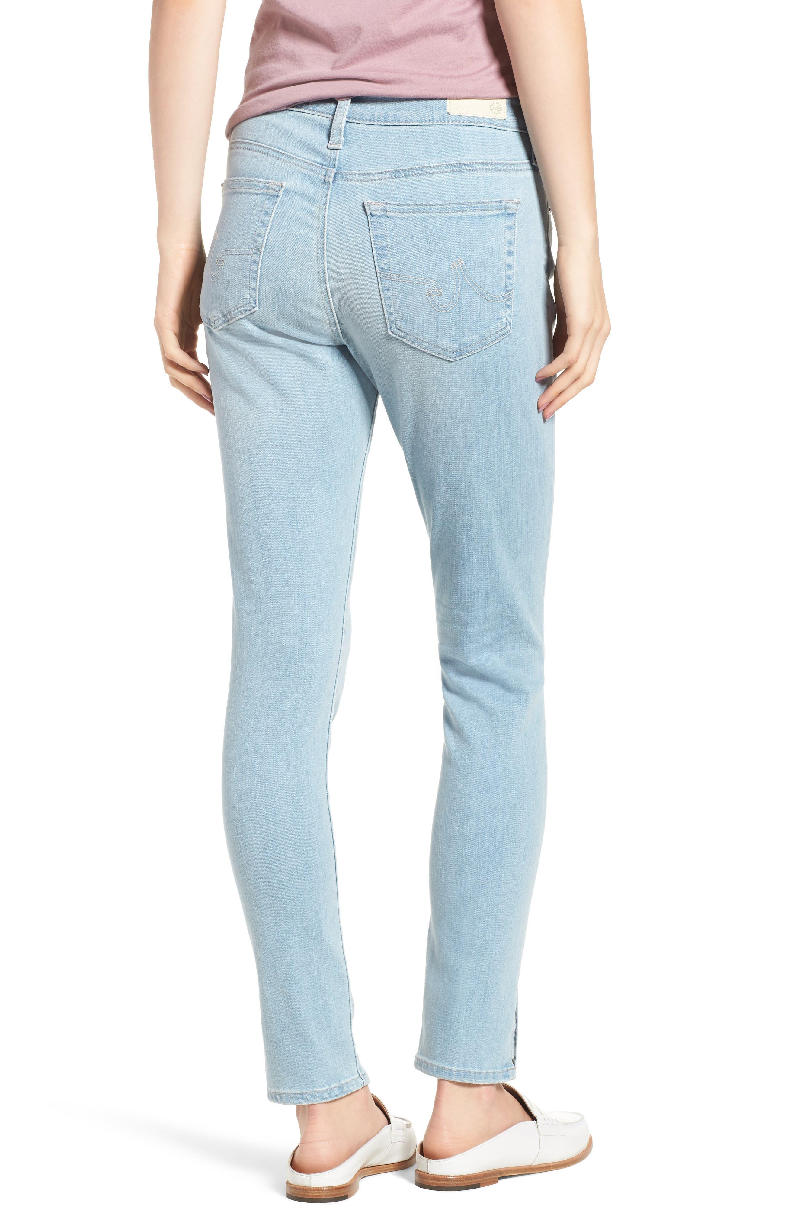 Farrah High Waist Ankle Skinny Jeans,                             Alternate thumbnail 2, color,                             20 Years Sutro