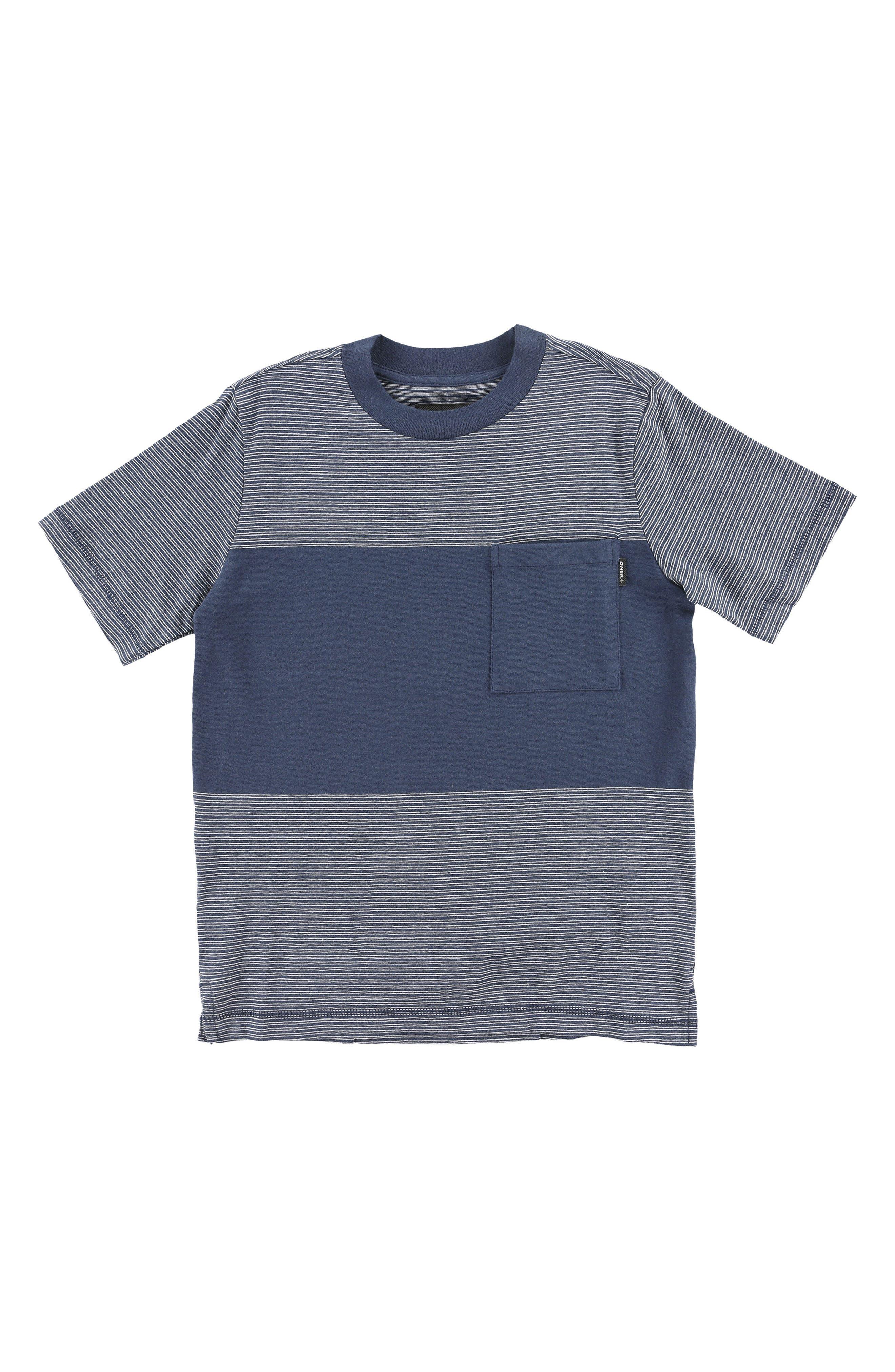 Bernardo T-Shirt,                         Main,                         color, Navy