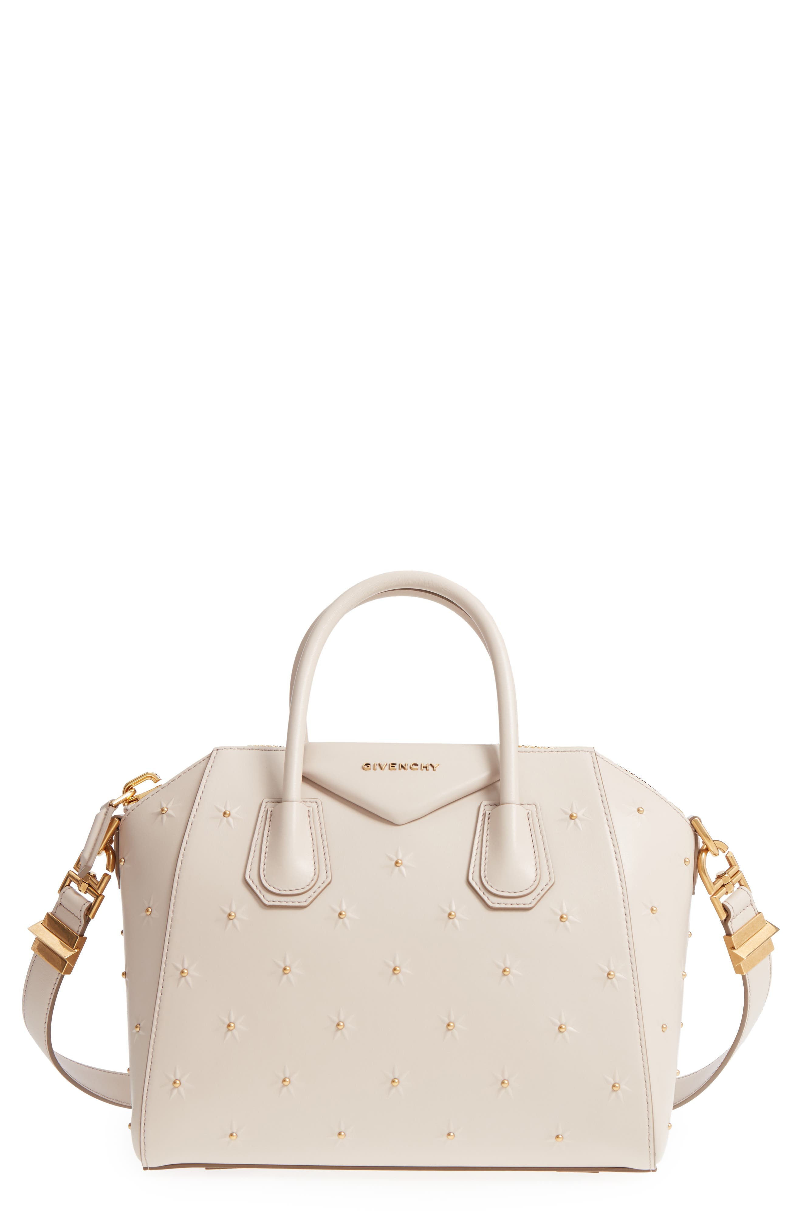 Givenchy Small Antigona Embellished Leather Satchel