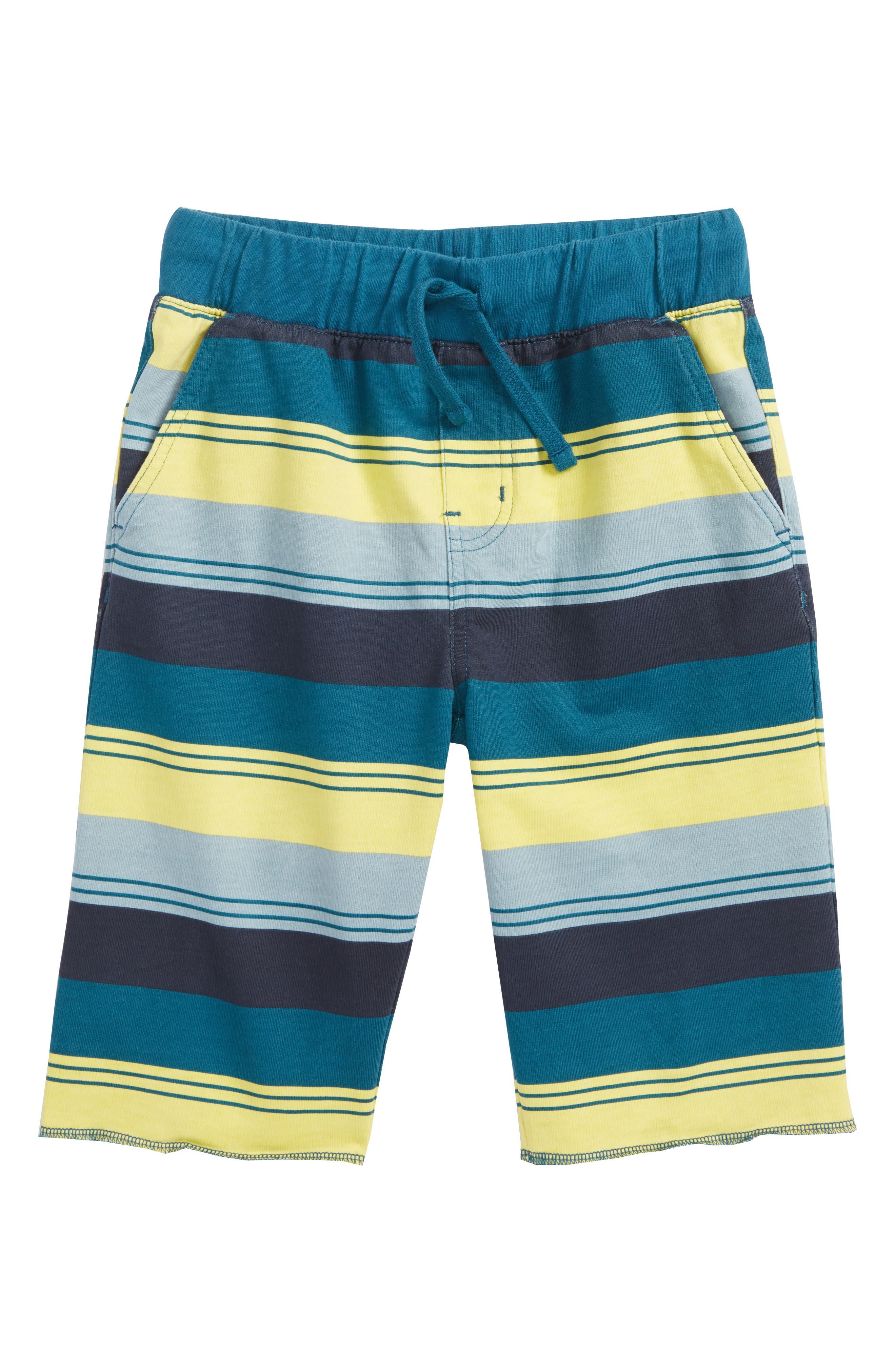 Cruiser Print Shorts,                         Main,                         color, Indigo Tri-Stripe