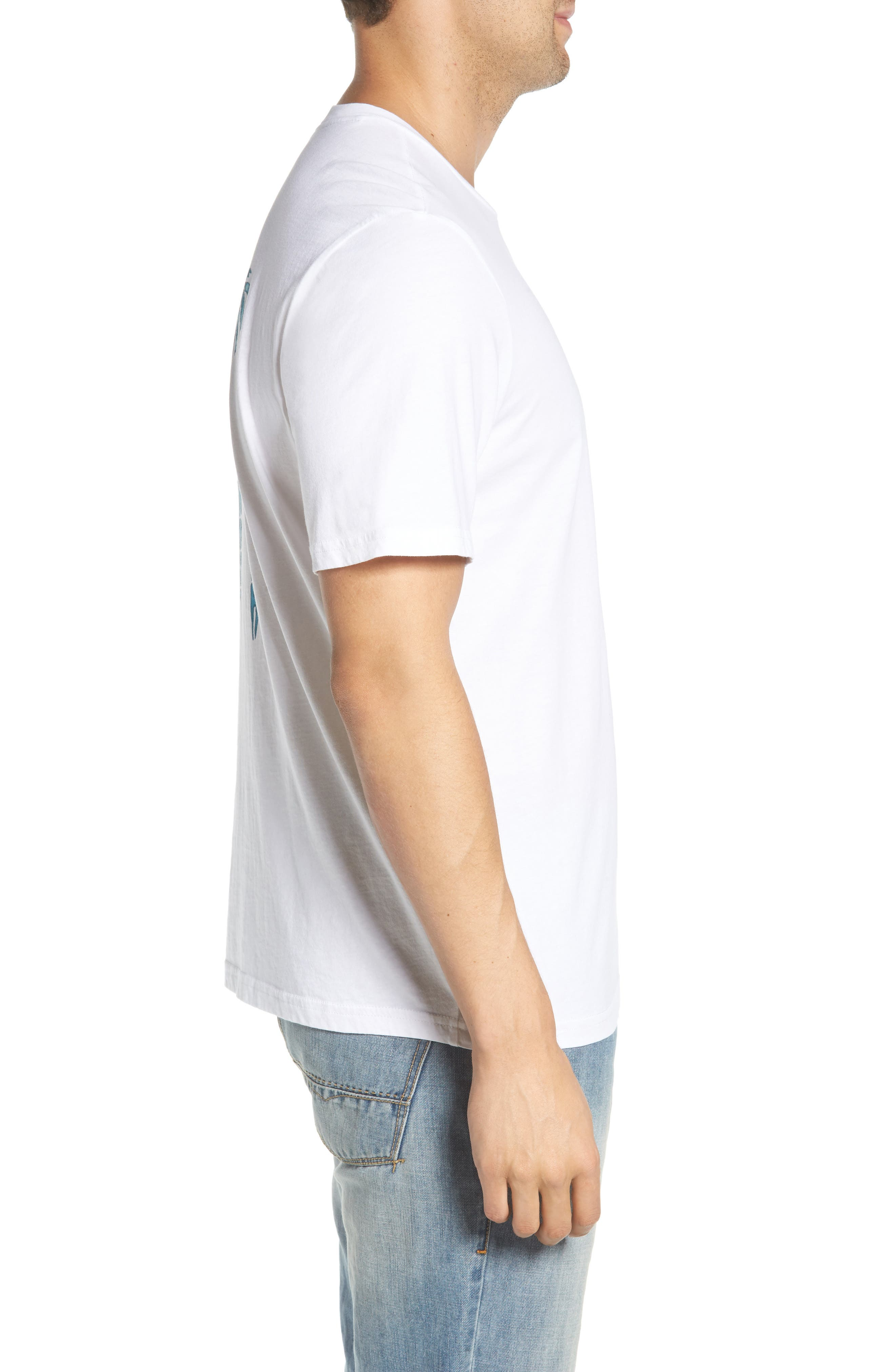 Parrot Pair T-Shirt,                             Alternate thumbnail 3, color,                             White