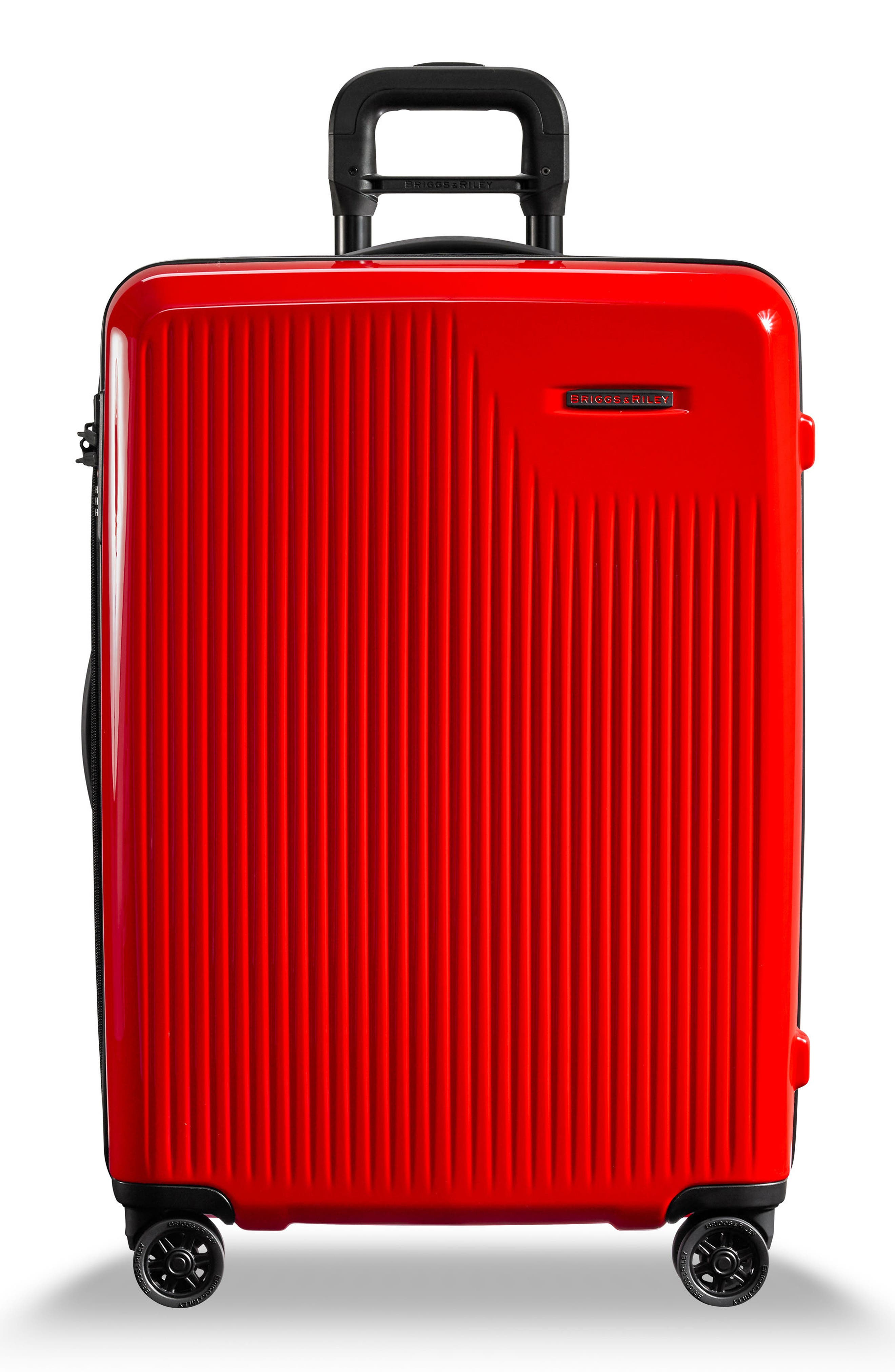 Sympatico 27-Inch Expandable Wheeled Packing Case,                             Main thumbnail 1, color,                             Fire