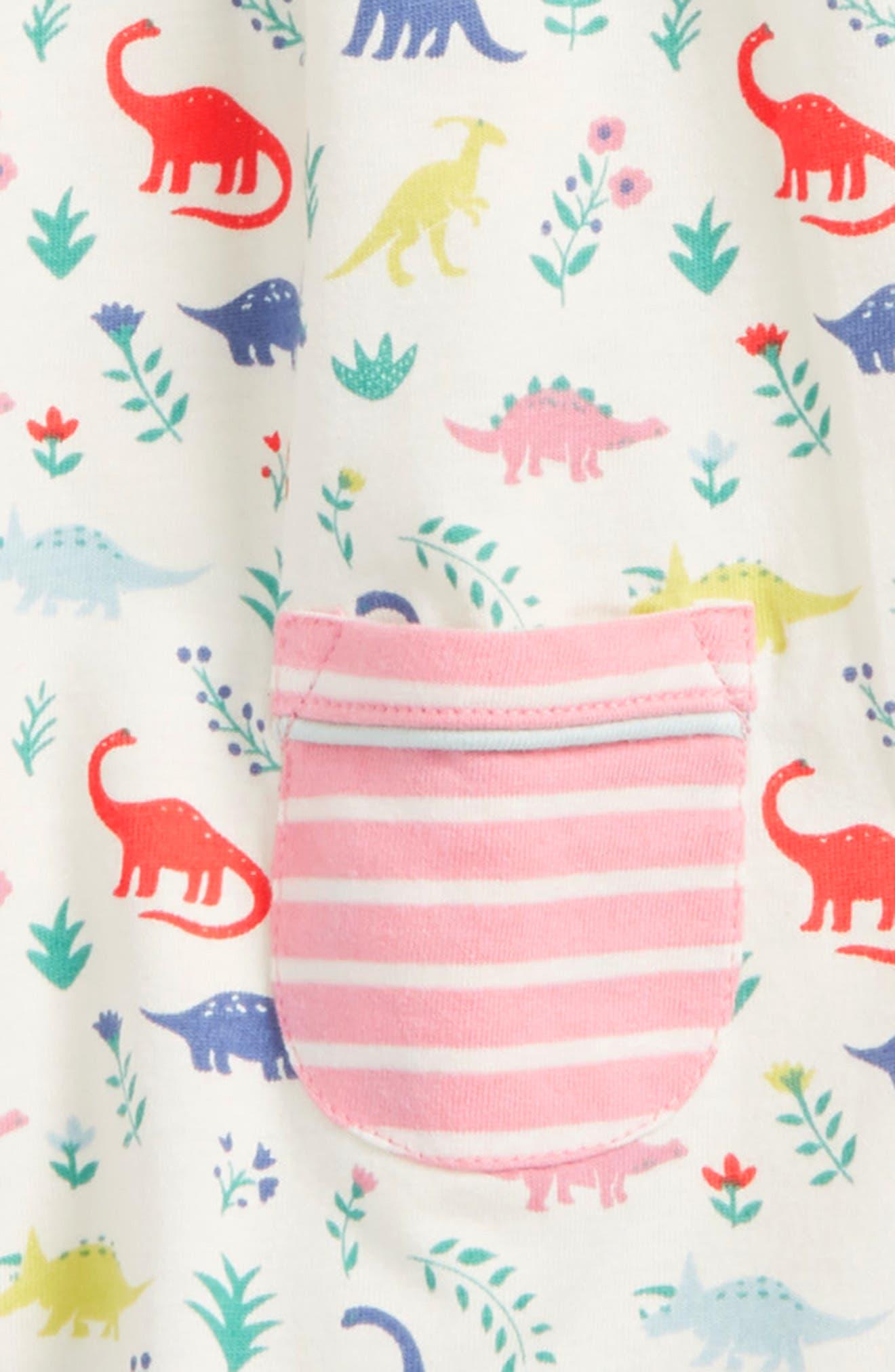 Alternate Image 3  - Mini Boden Hotchpotch Jersey Dress (Baby Girls & Toddler Girls)