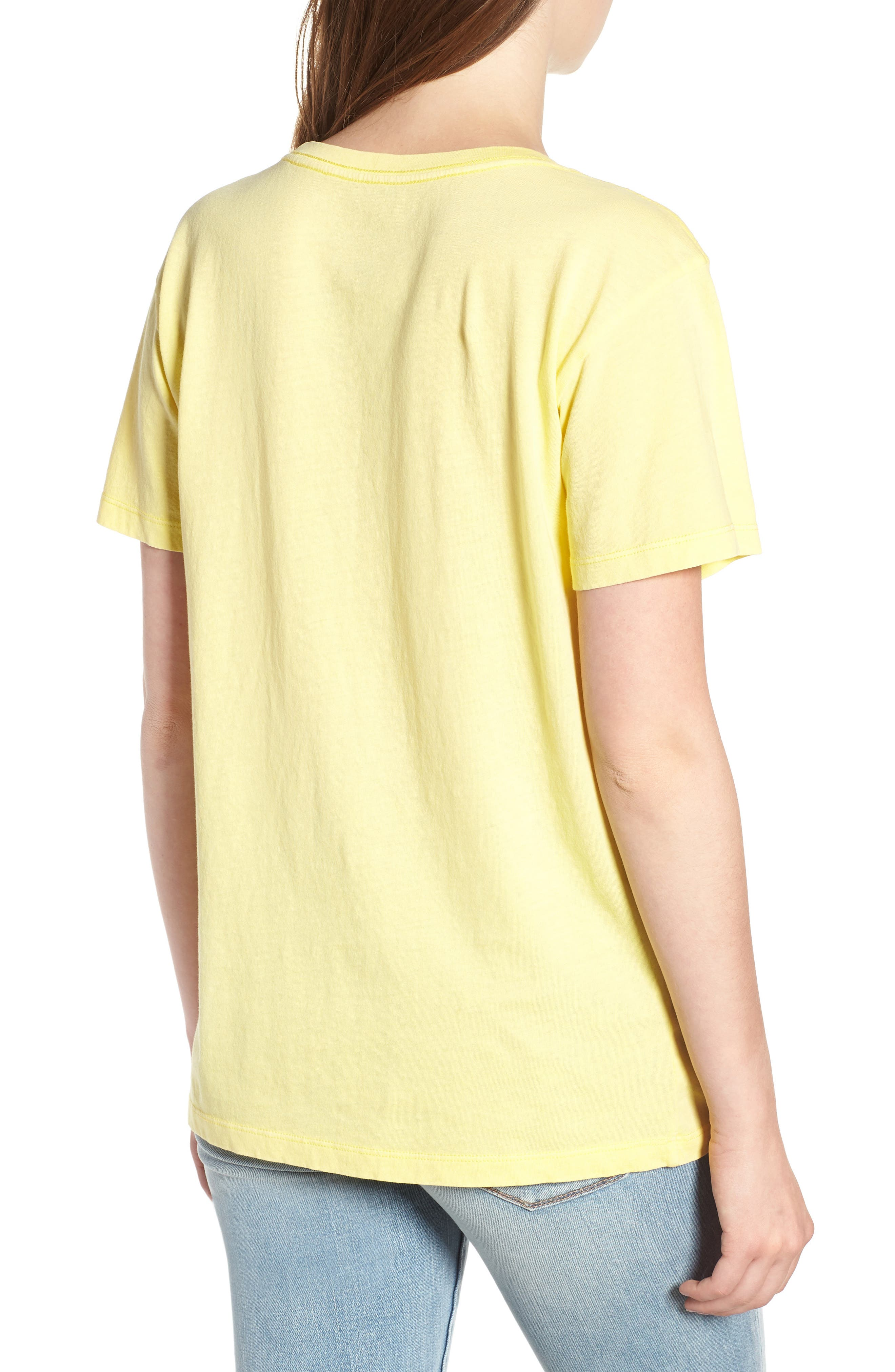 Yosemite Graphic Tee,                             Alternate thumbnail 2, color,                             Washed Yellow