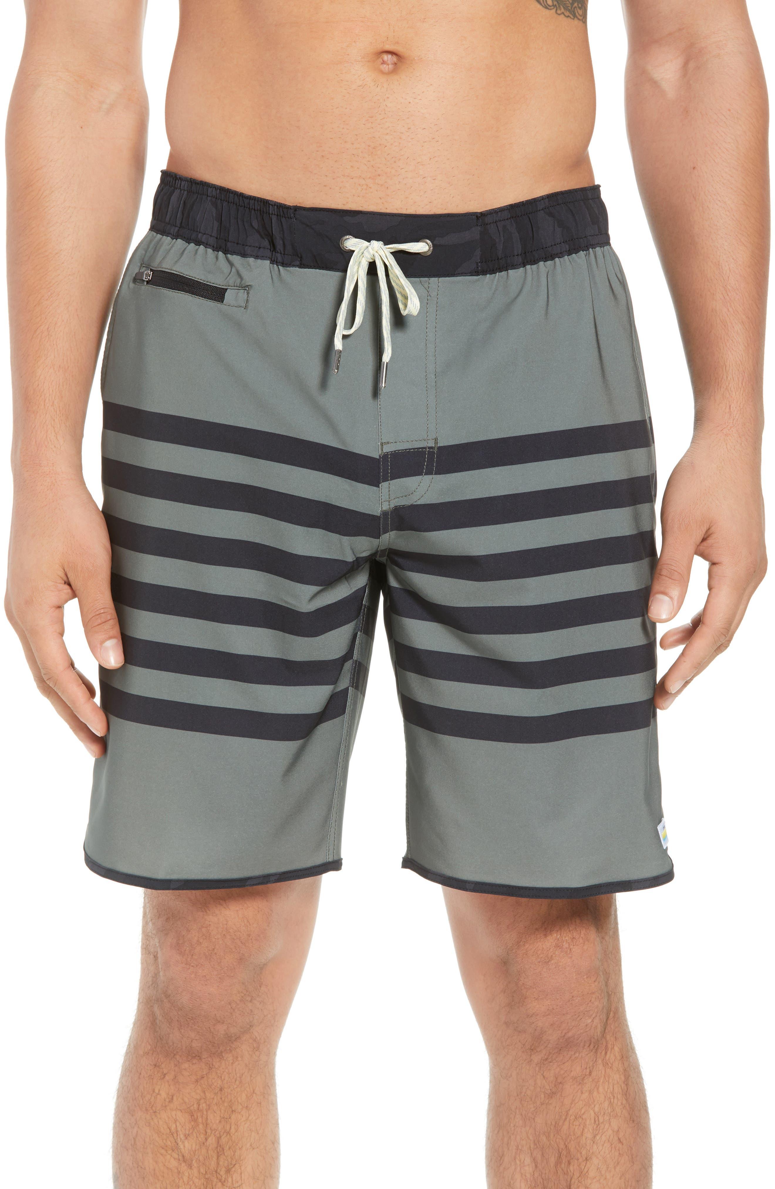 Banks Shorts,                             Main thumbnail 1, color,                             Army Stripe