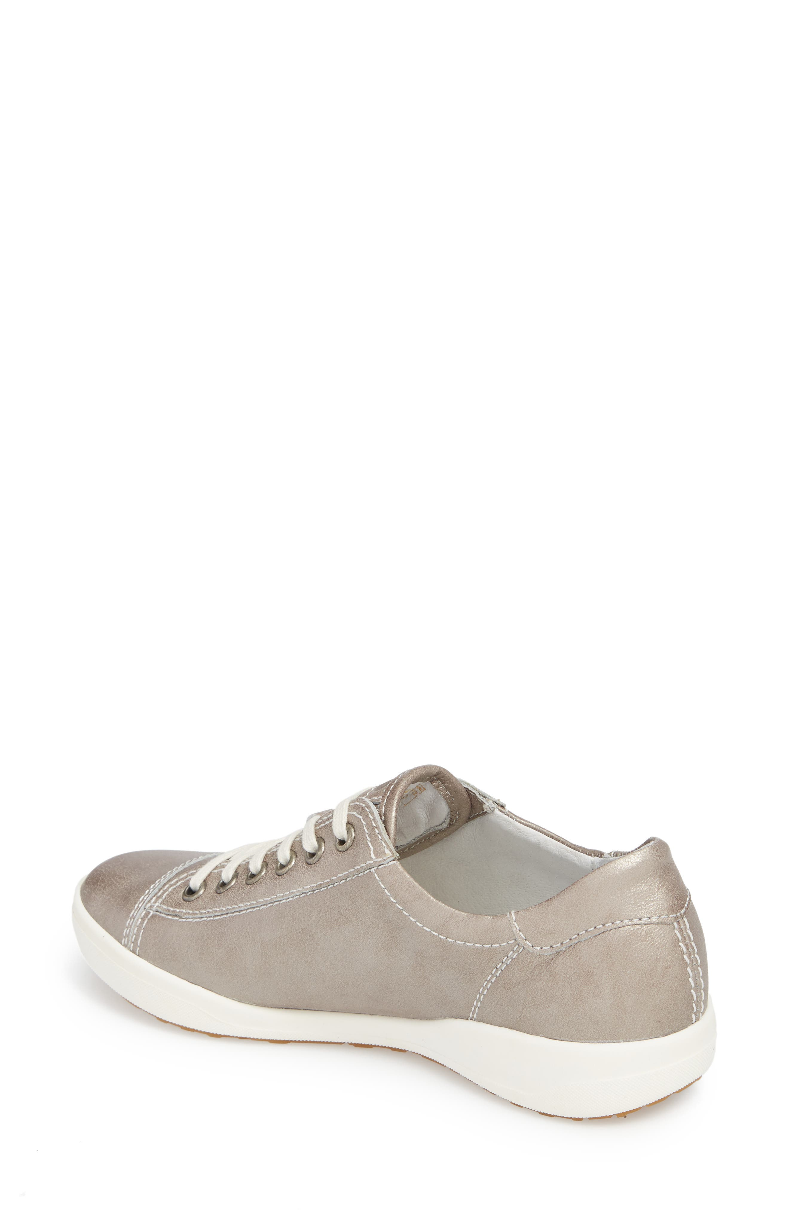 Sina 11 Sneaker,                             Alternate thumbnail 2, color,                             Platin Leather