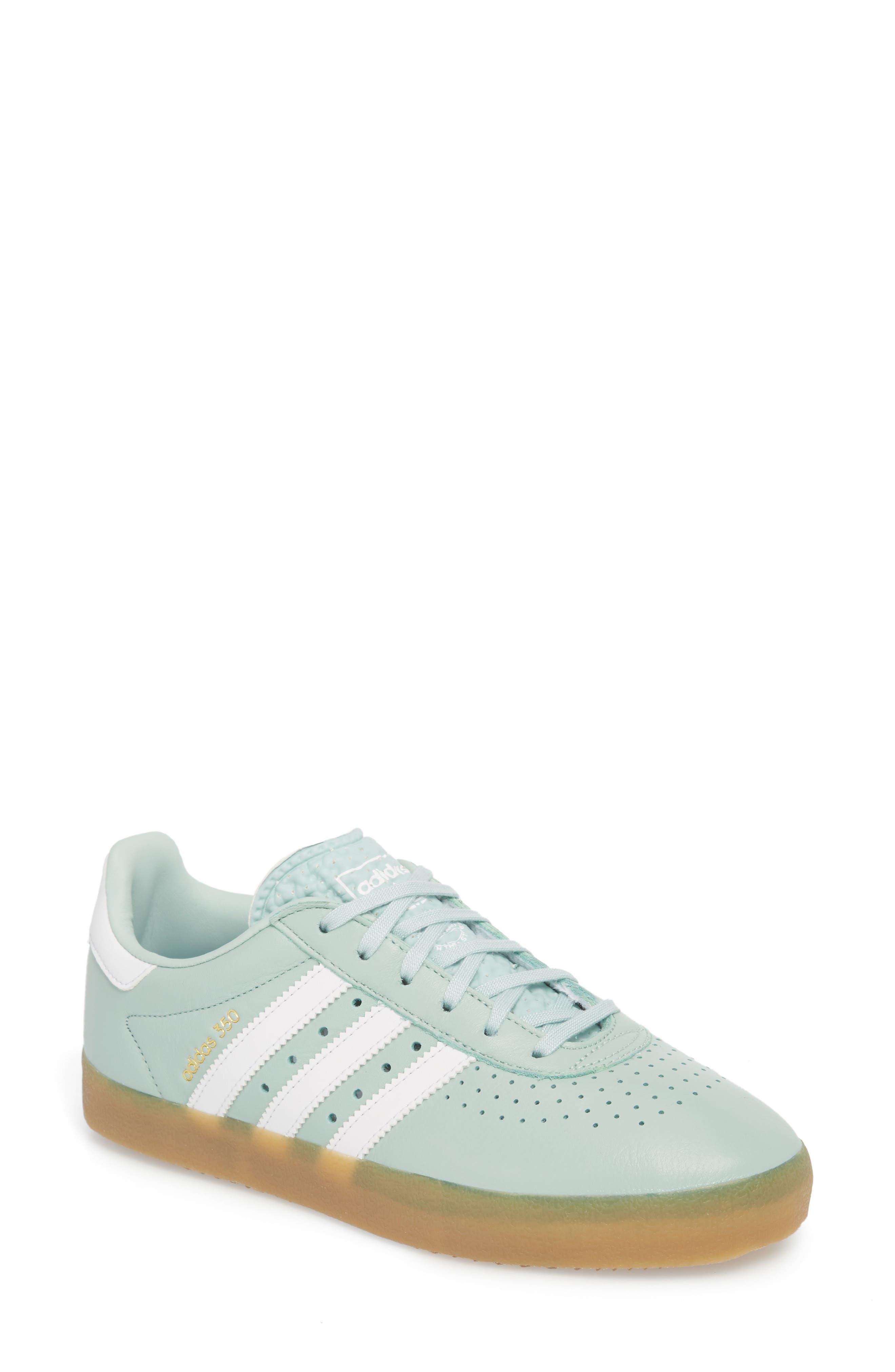 350 Sneaker,                             Main thumbnail 1, color,                             Ash Green/ White/ Gum