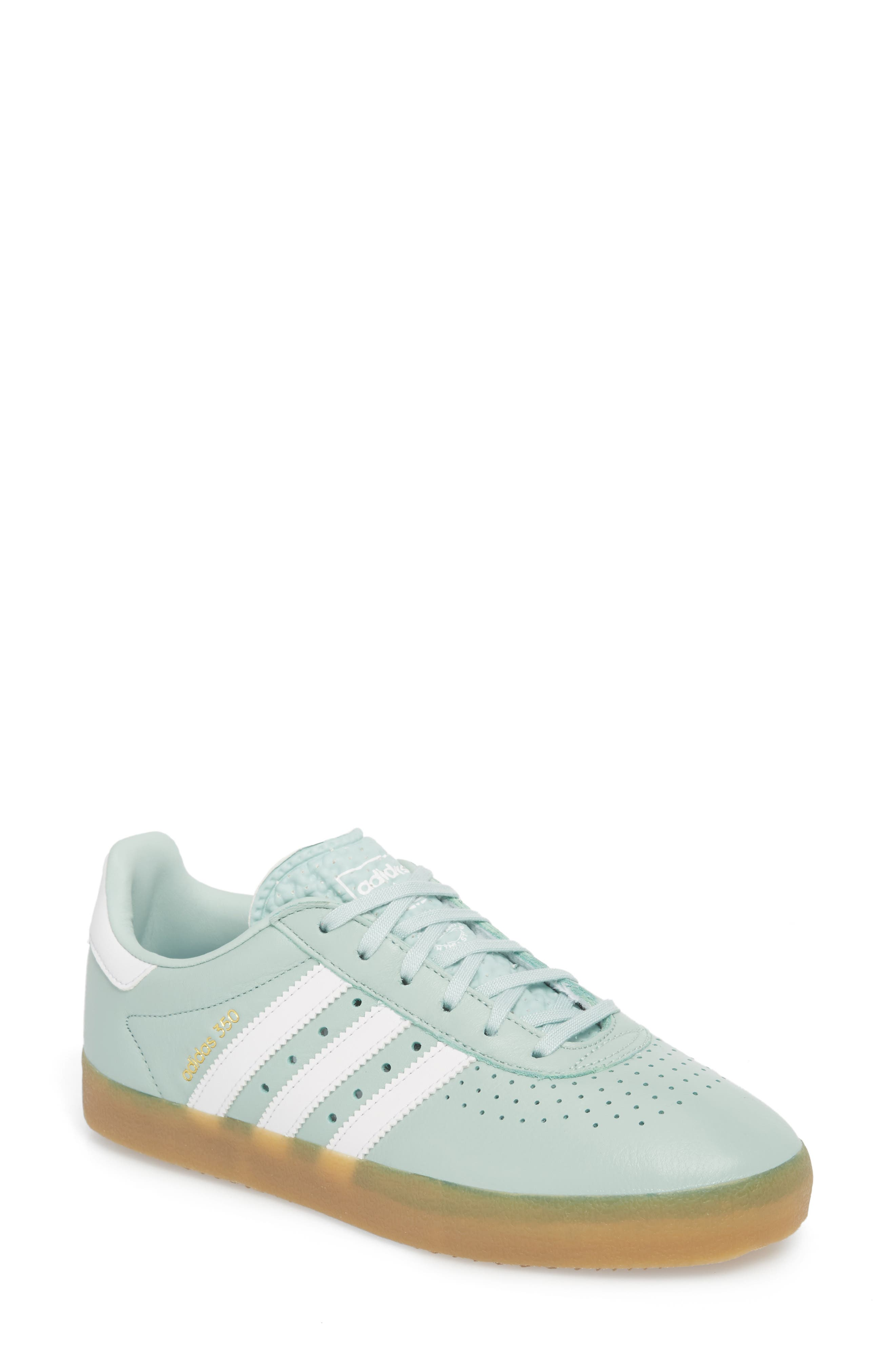 350 Sneaker,                         Main,                         color, Ash Green/ White/ Gum