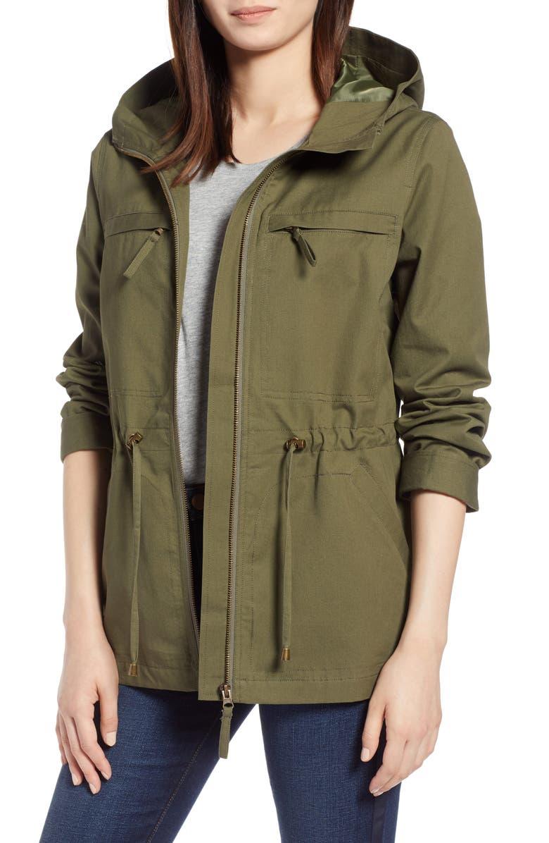 Zip Front Field Jacket