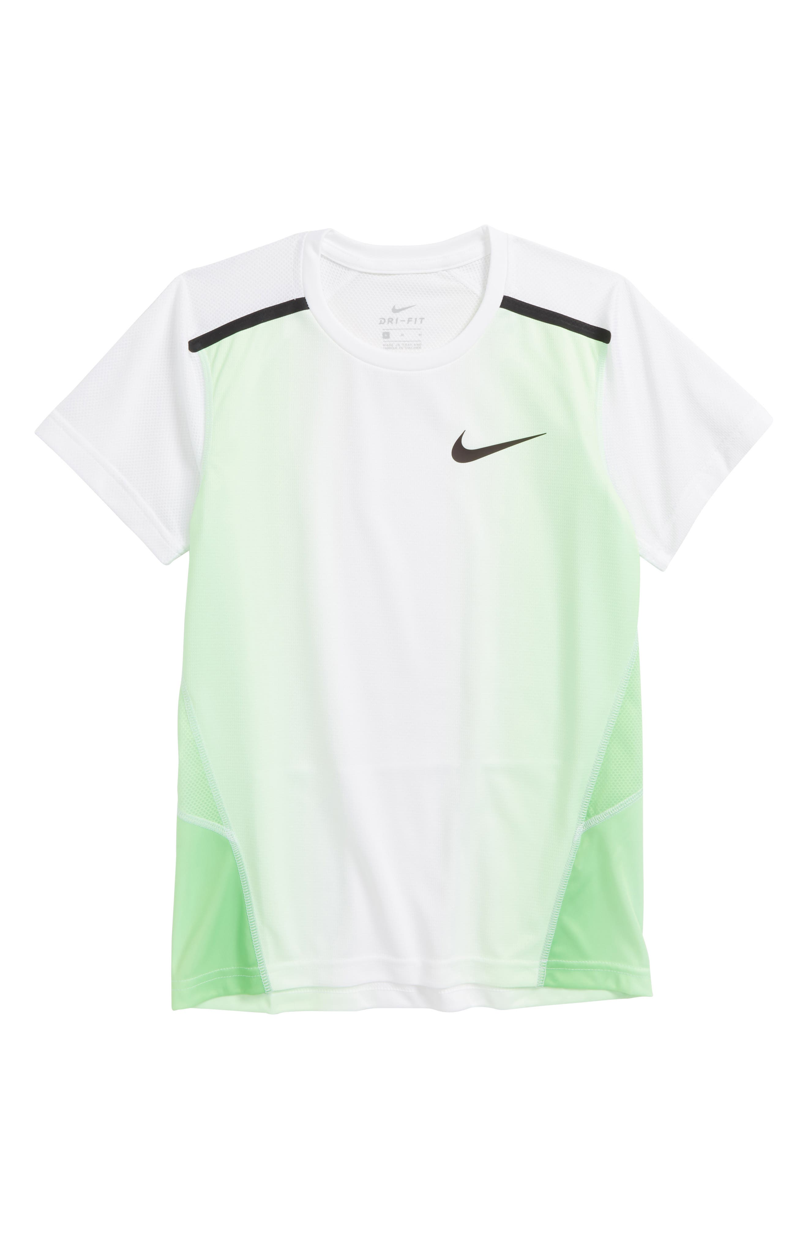 Breathe Dry Insta Air Shirt,                             Main thumbnail 1, color,                             Green Strike