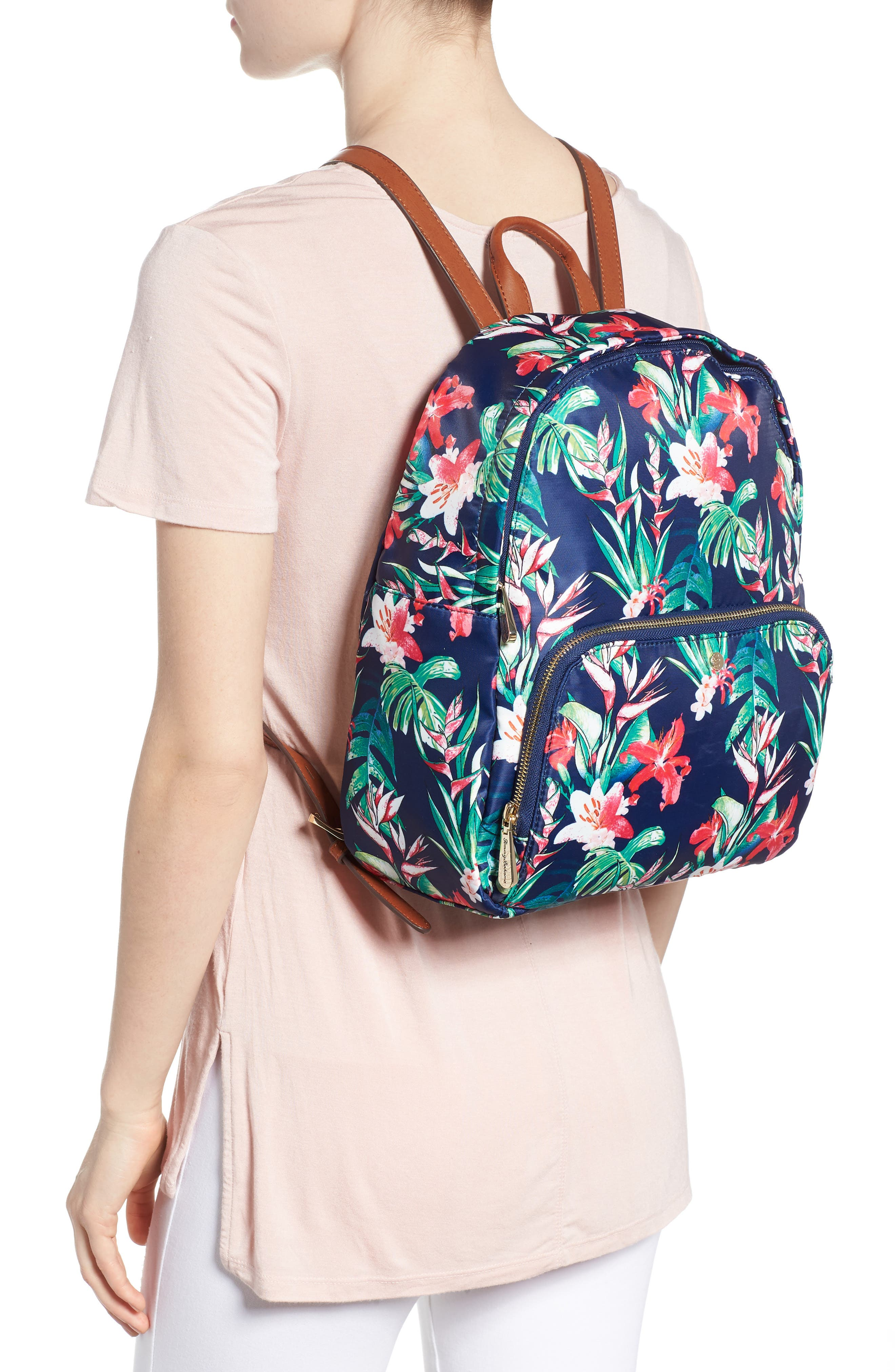 Siesta Key Backpack,                             Alternate thumbnail 2, color,                             Tropical Lily