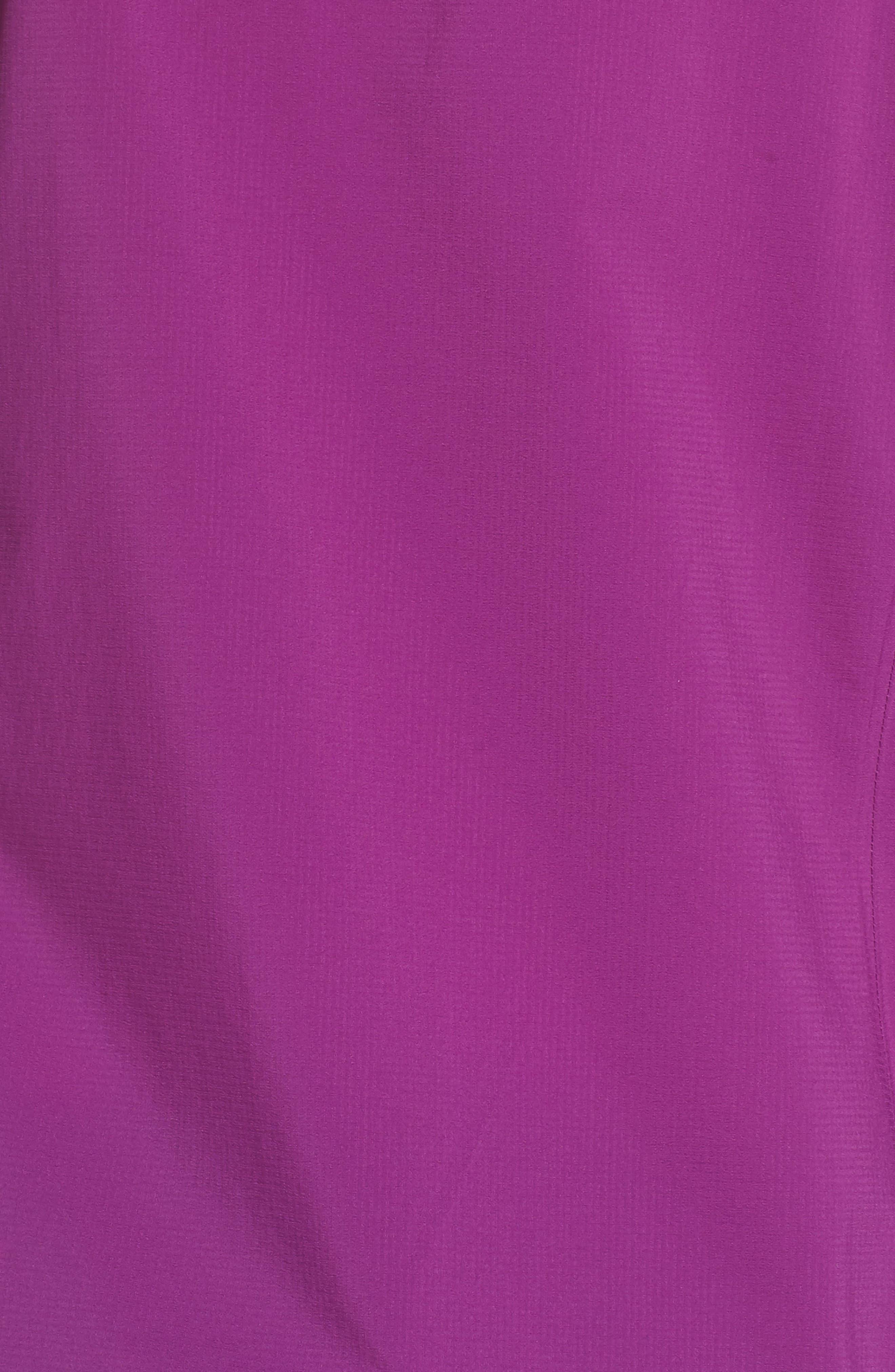 Stretch Rainshadow Jacket,                             Alternate thumbnail 6, color,                             Ikat Purple