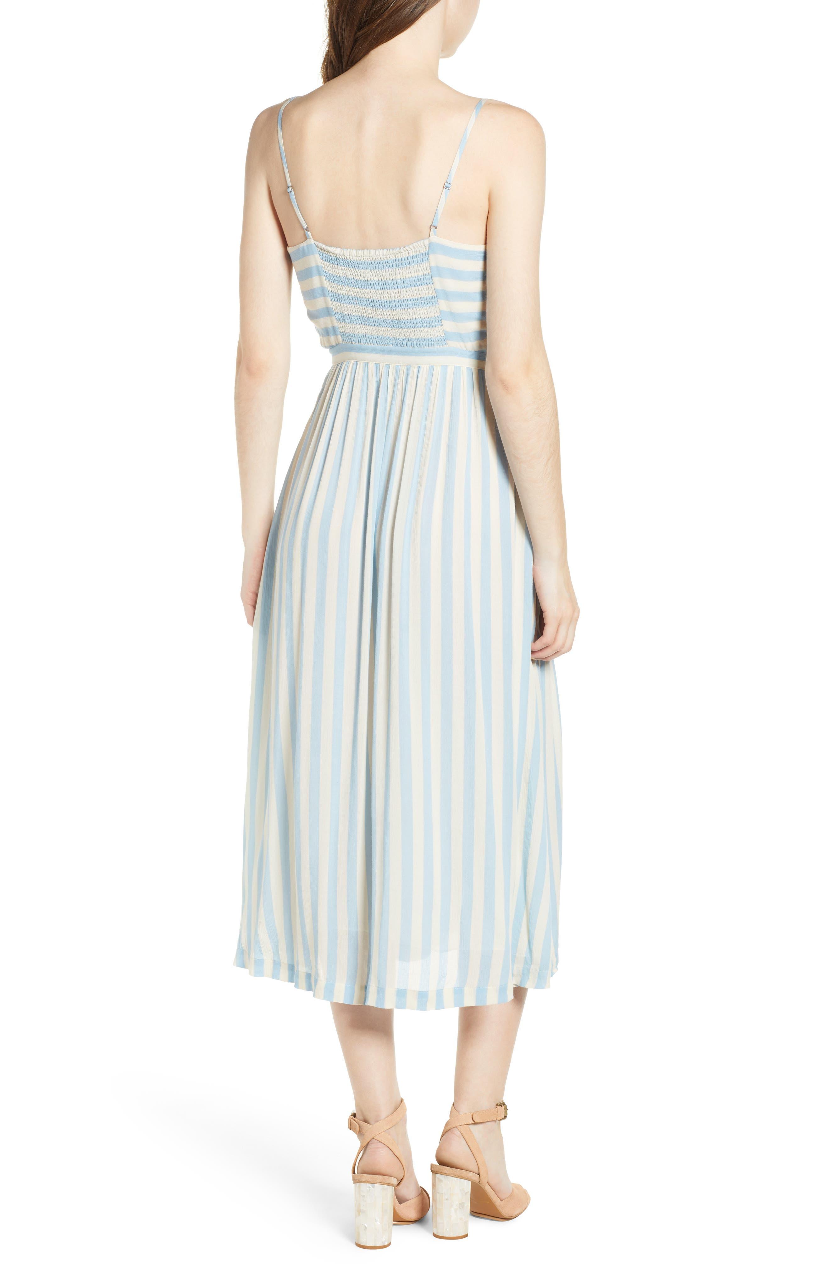 Derinda Dress,                             Alternate thumbnail 2, color,                             Blue Multi