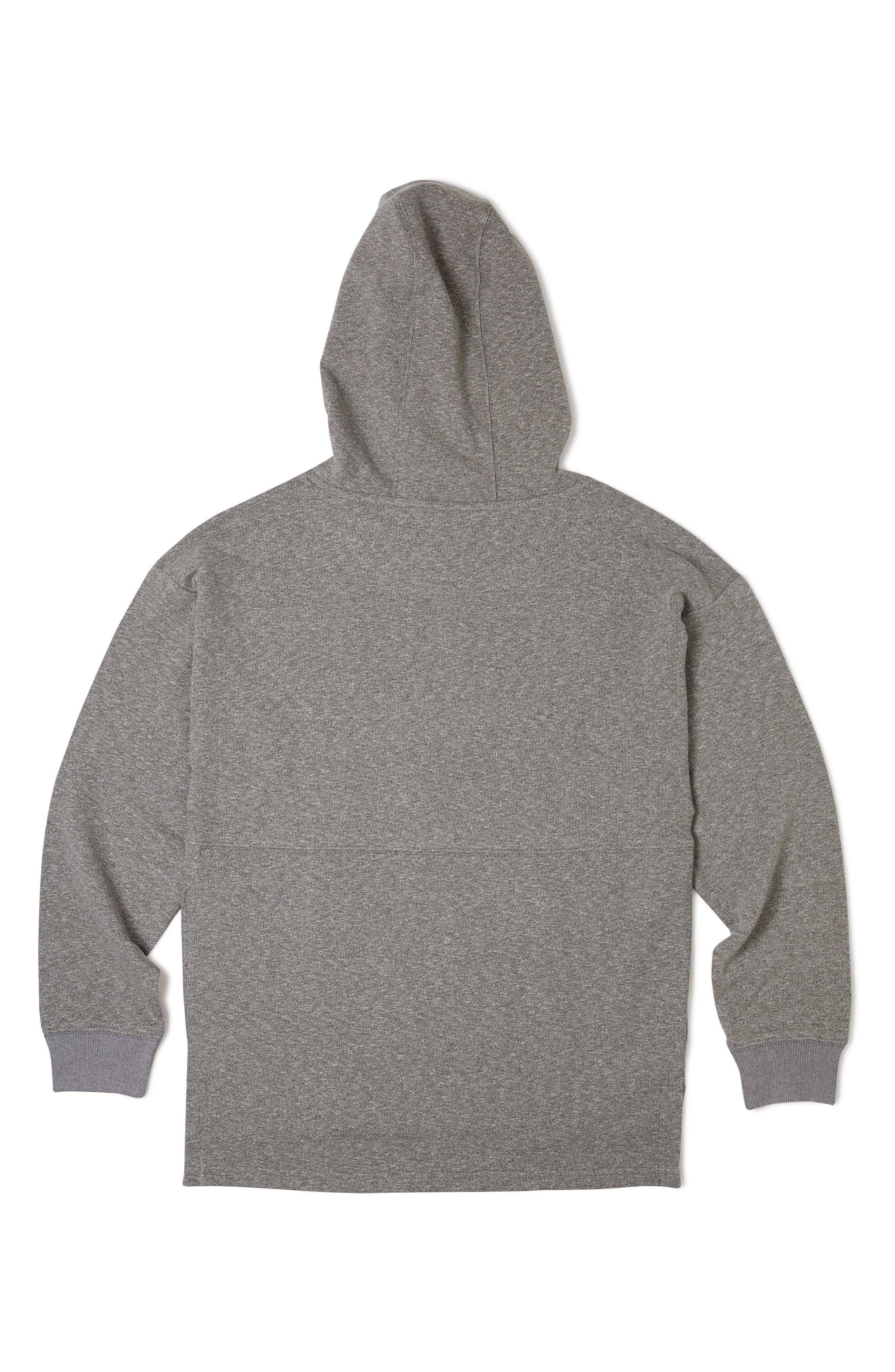 Cruise Hoodie,                             Alternate thumbnail 2, color,                             Heather Grey