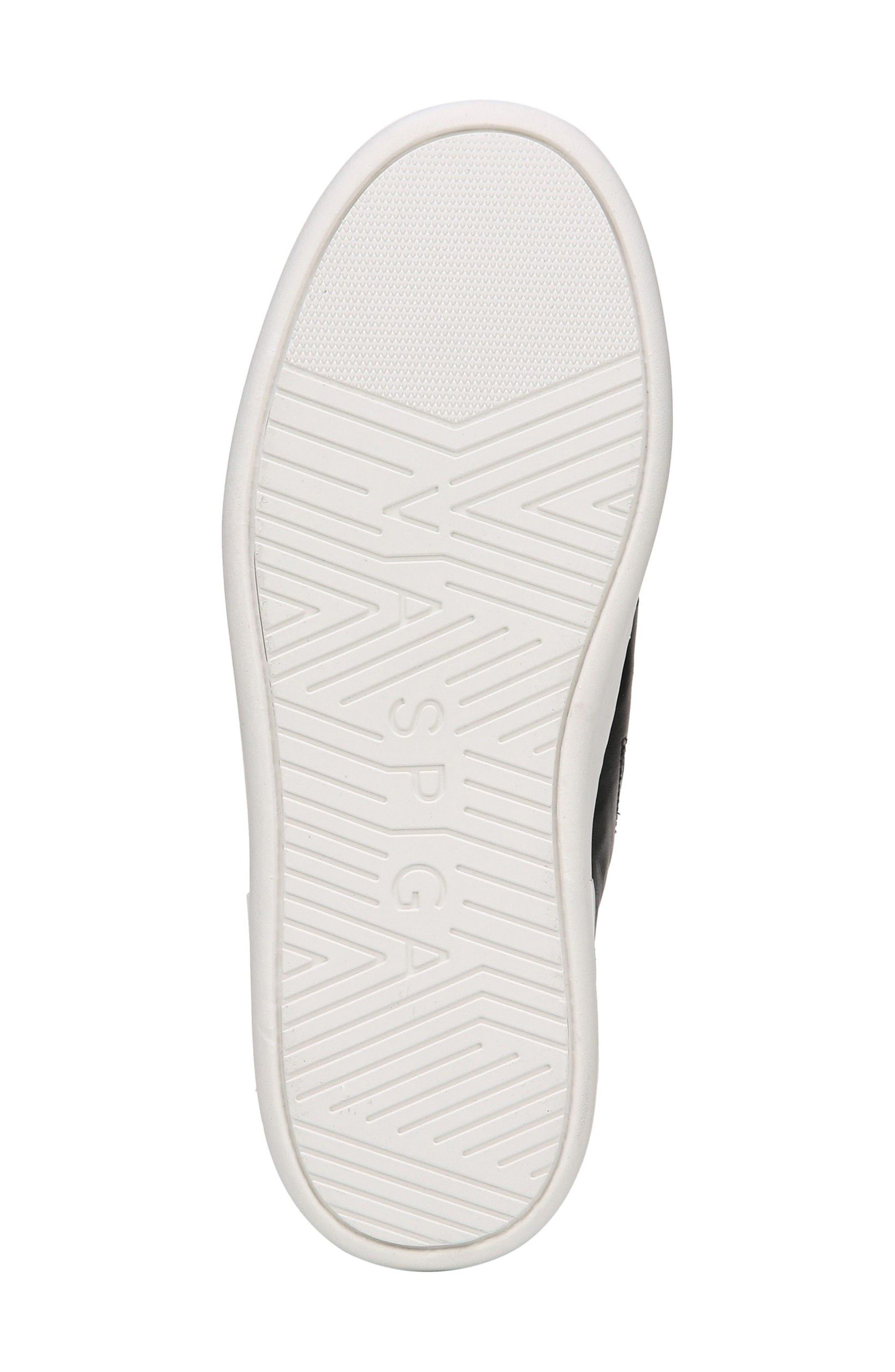 Ryder Slip-On Sneaker,                             Alternate thumbnail 6, color,                             Black Leather