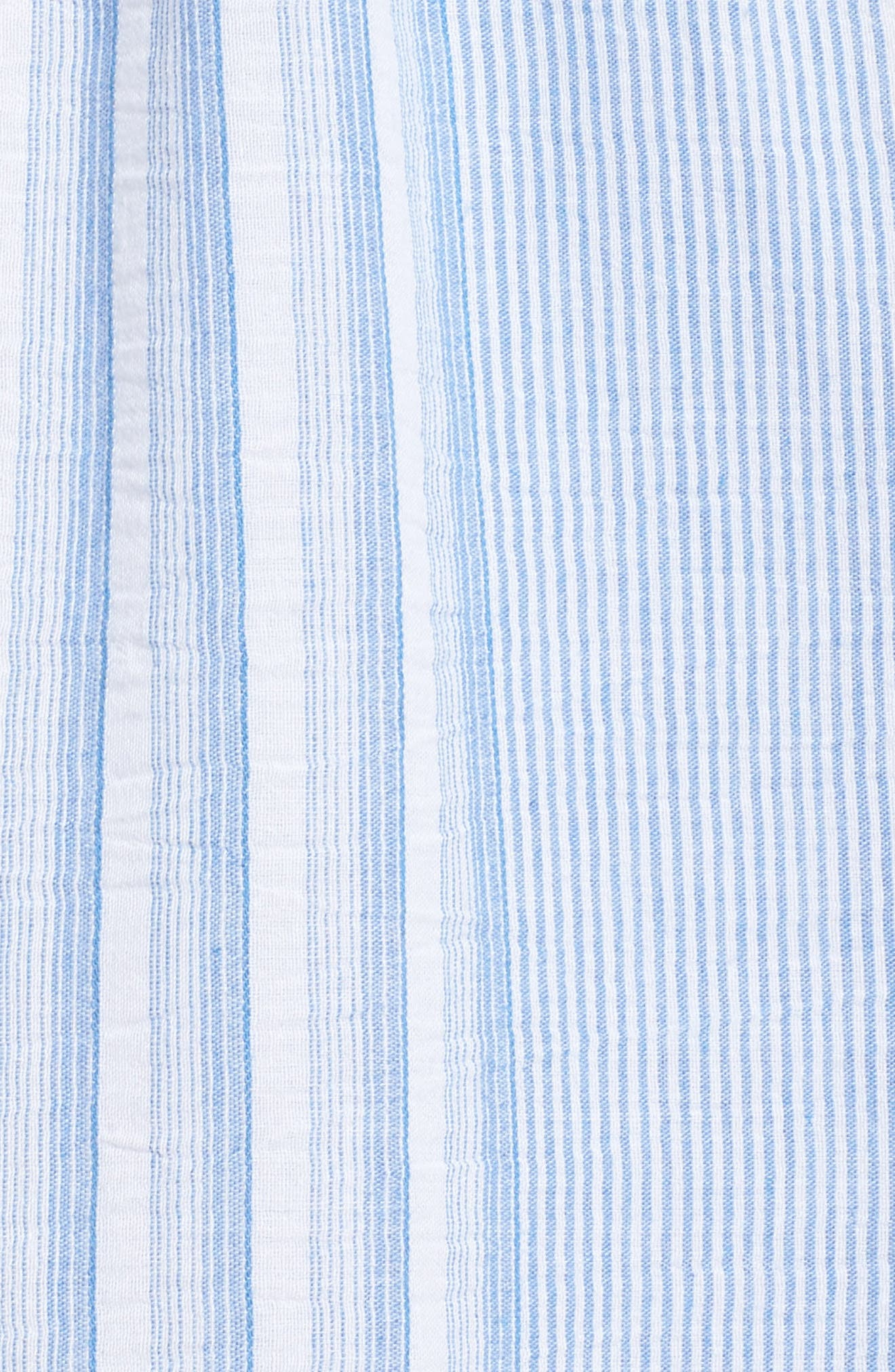 Spencer Stripe Ruffle & Lace Sundress,                             Alternate thumbnail 6, color,                             Multi