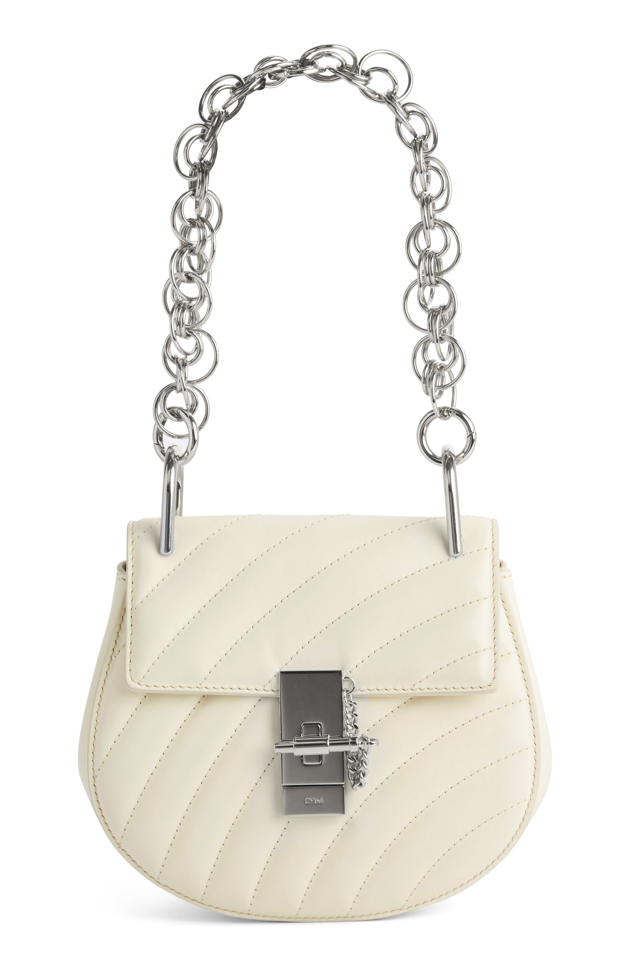 Alternate Image 1 Selected - Chloé Mini Drew Bijoux Leather Shoulder Bag