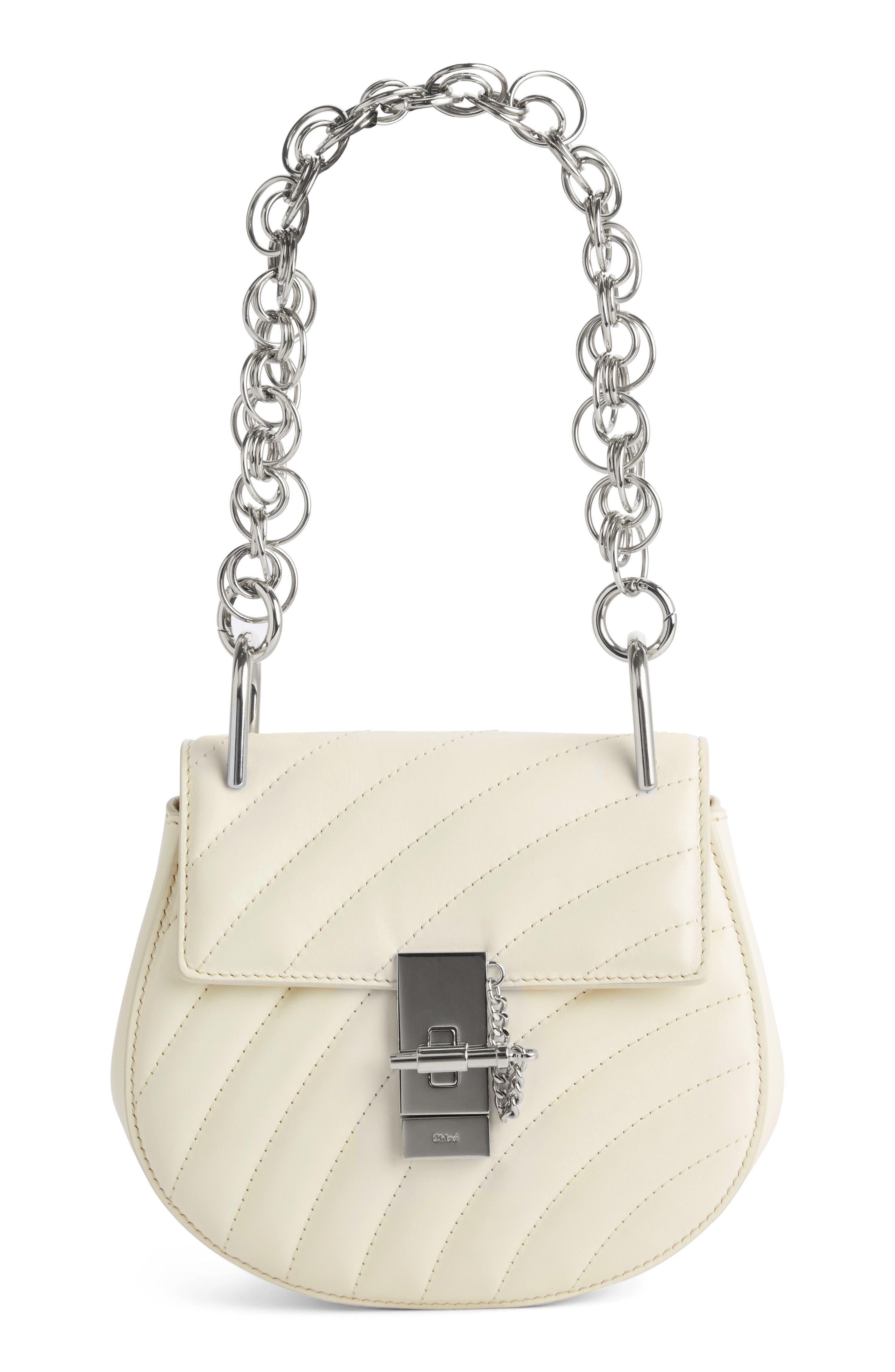Main Image - Chloé Mini Drew Bijoux Leather Shoulder Bag