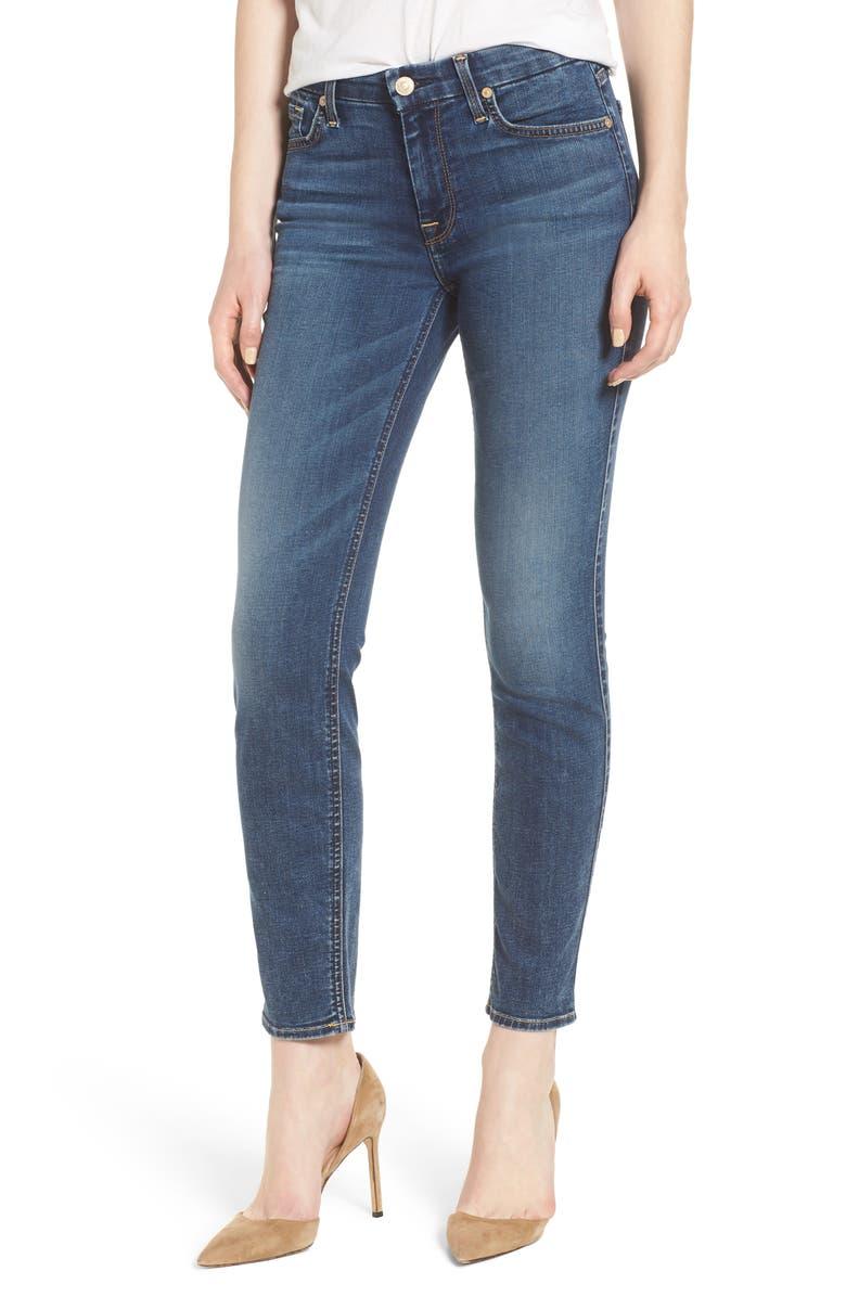 b(air) High Waist Ankle Skinny Jeans