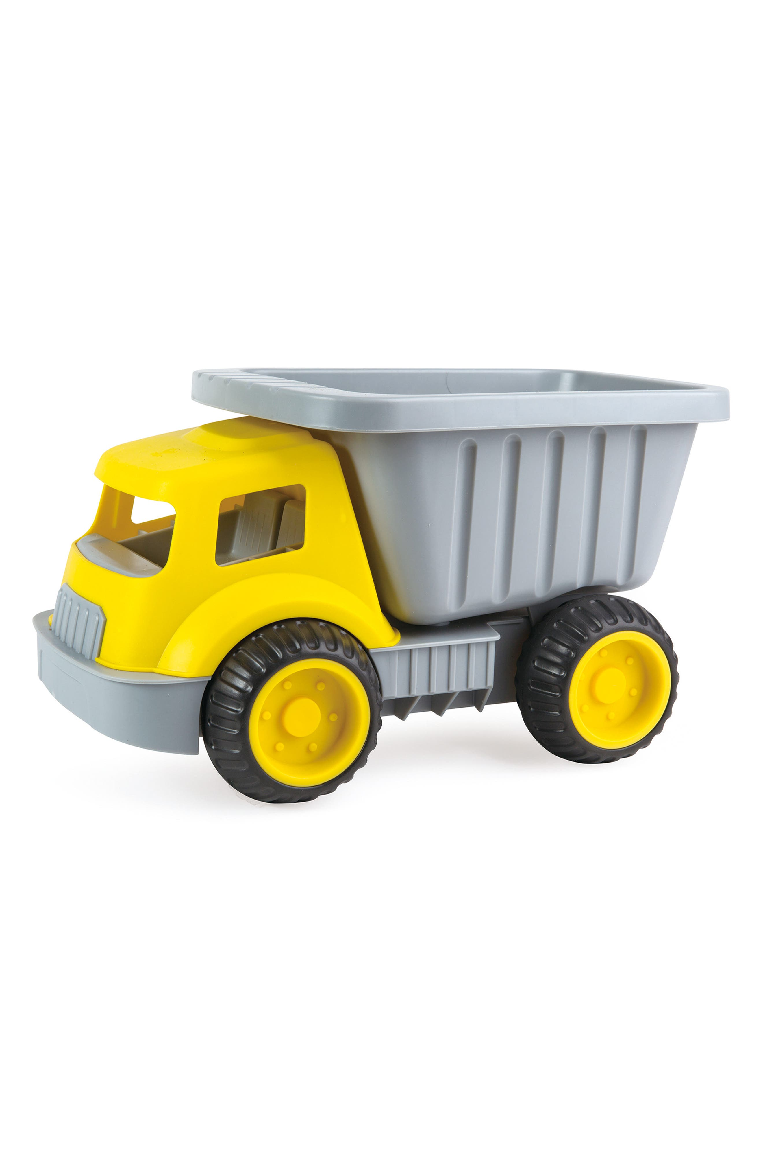 Load & Tote Dump Truck,                         Main,                         color, Yellow/ Grey