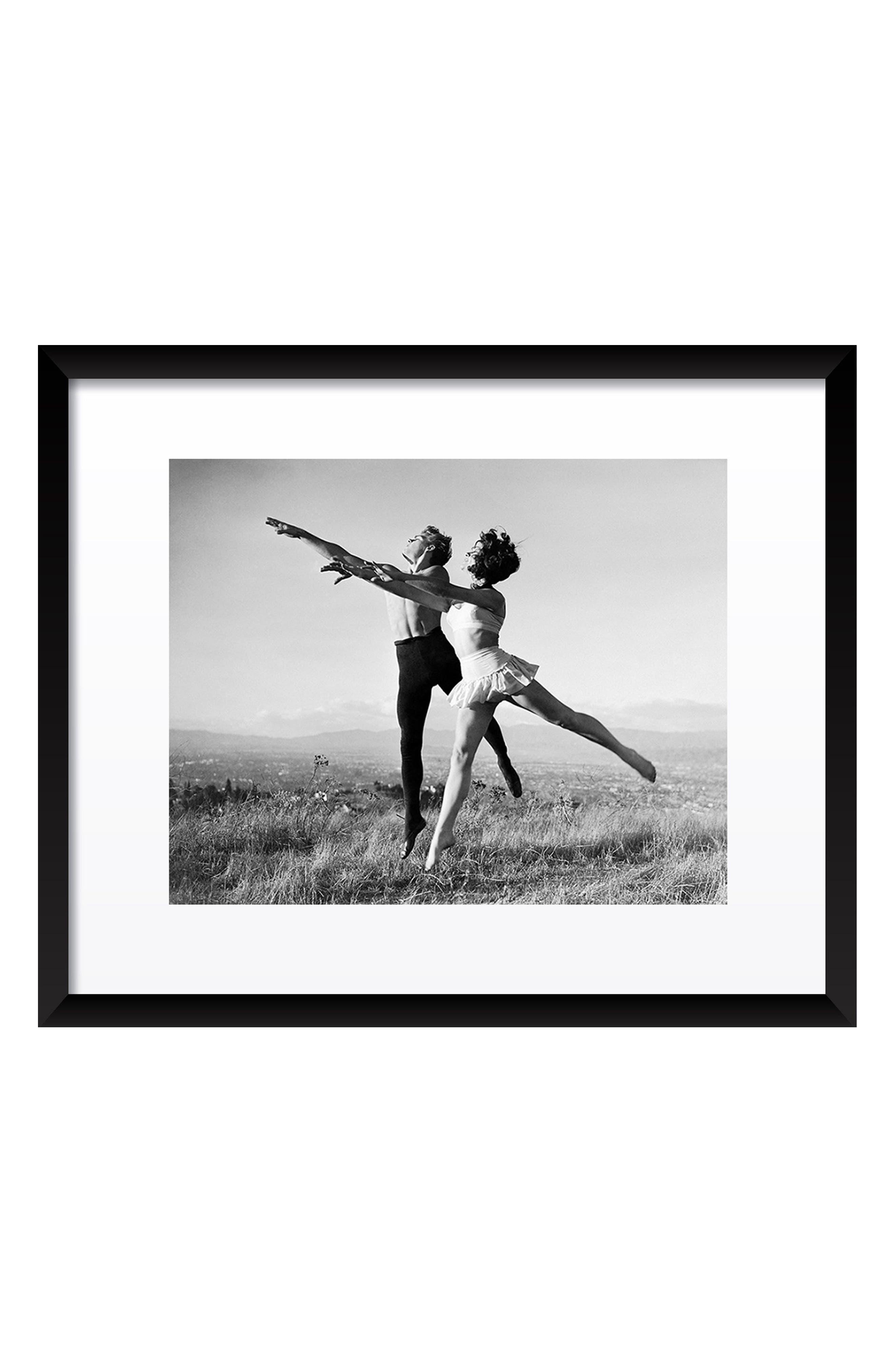 Elizabeth Taylor & James Dean Fine Art Print,                         Main,                         color, Black