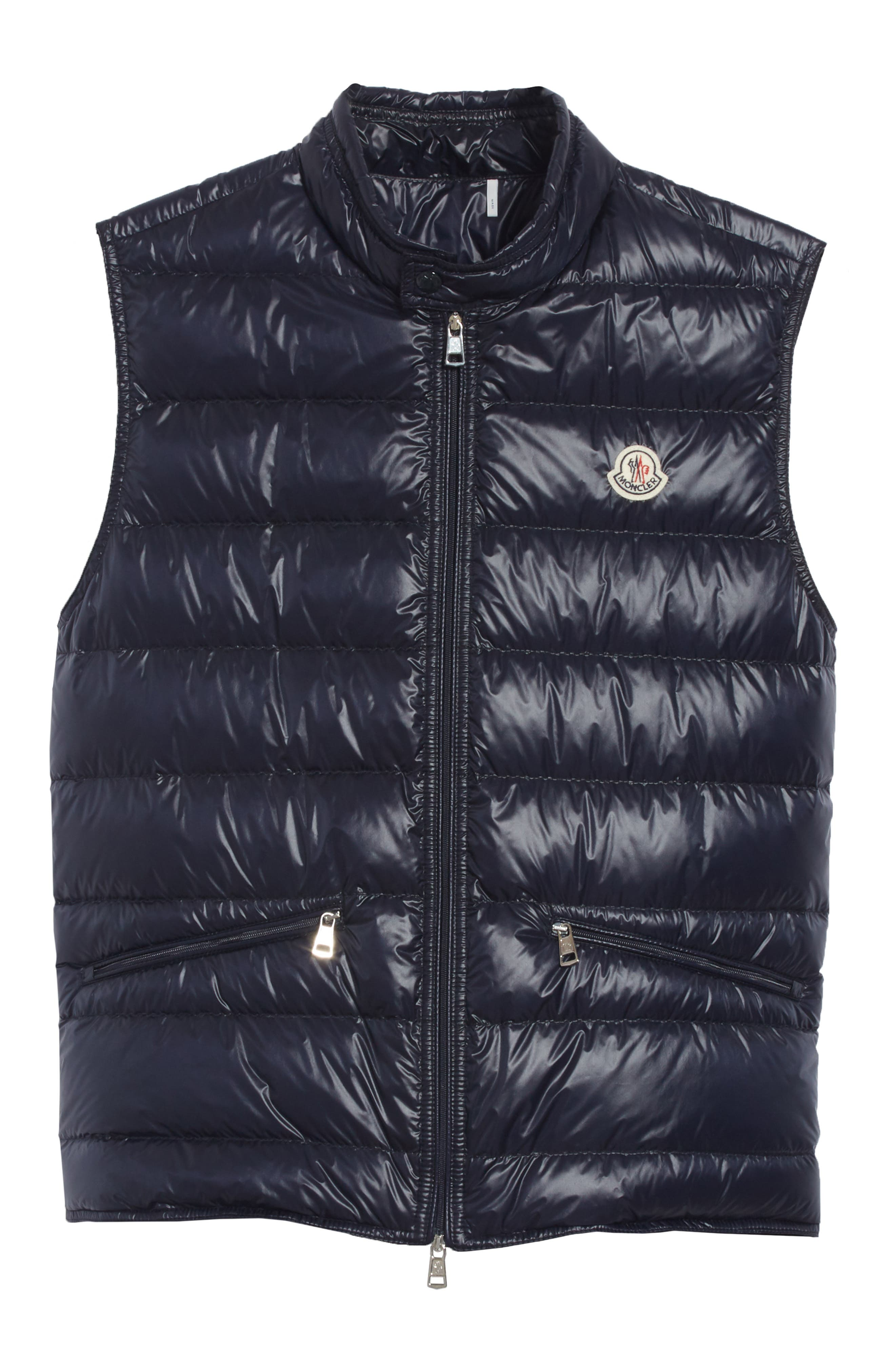 Gui Down Vest,                             Alternate thumbnail 6, color,                             Navy