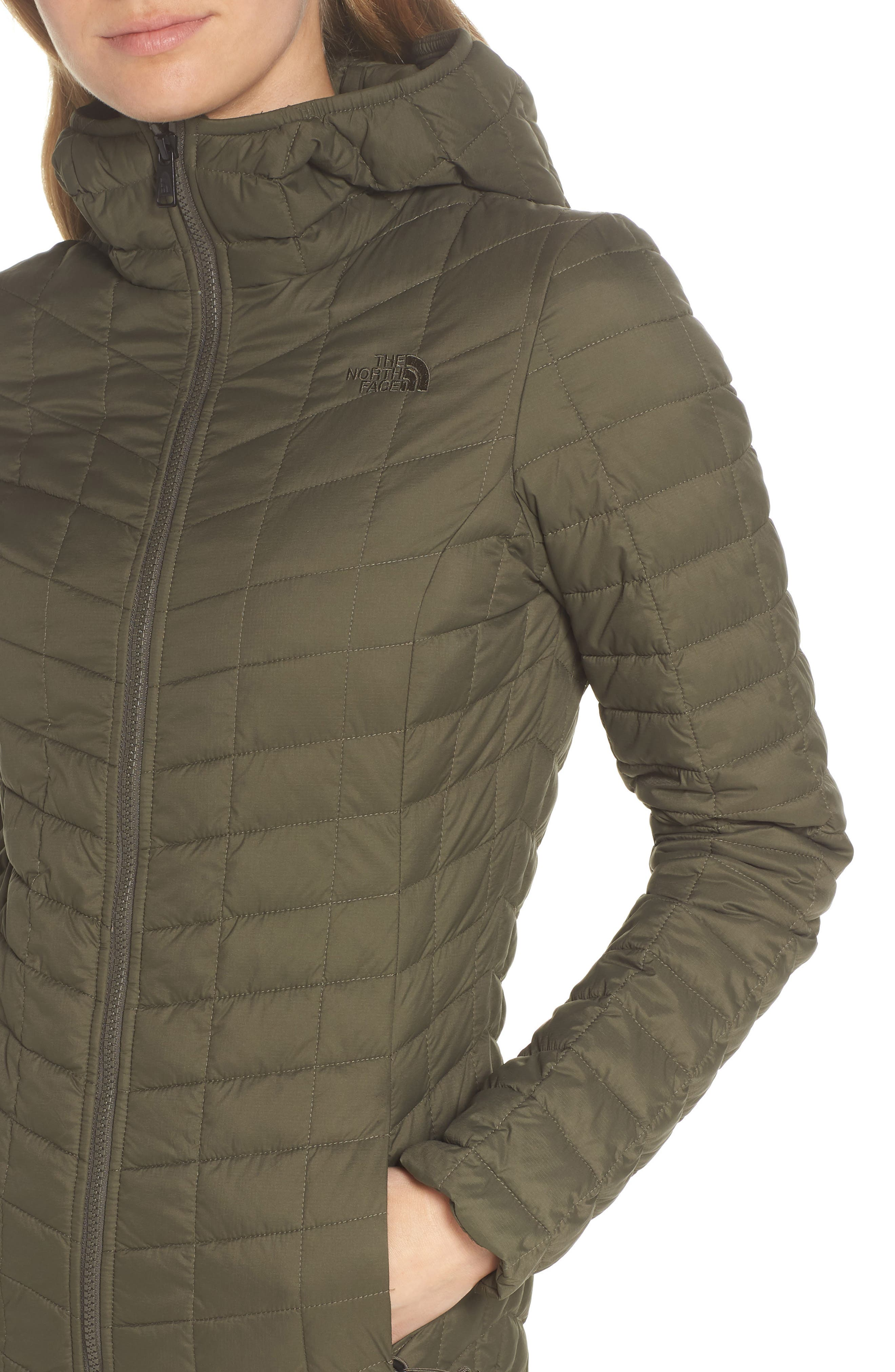 ThermoBall<sup>™</sup> PrimaLoft<sup>®</sup> Hooded Parka,                             Alternate thumbnail 4, color,                             New Taupe Green Matte
