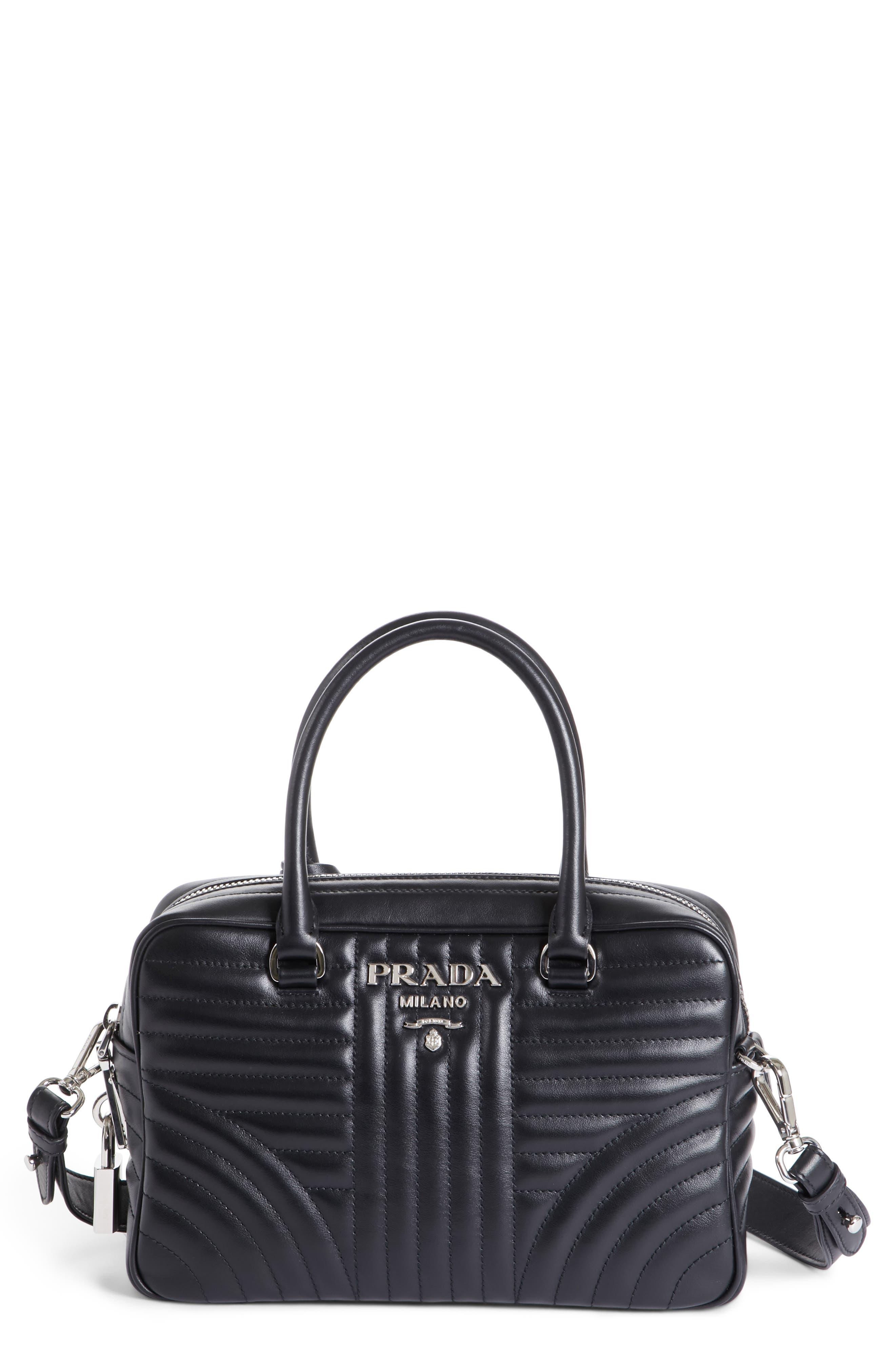15323068e868 cheapest prada purse b8888 vela nero e1e02 18b8c  promo code for prada  small quilted bowler crossbody bag 52c4e 378cc