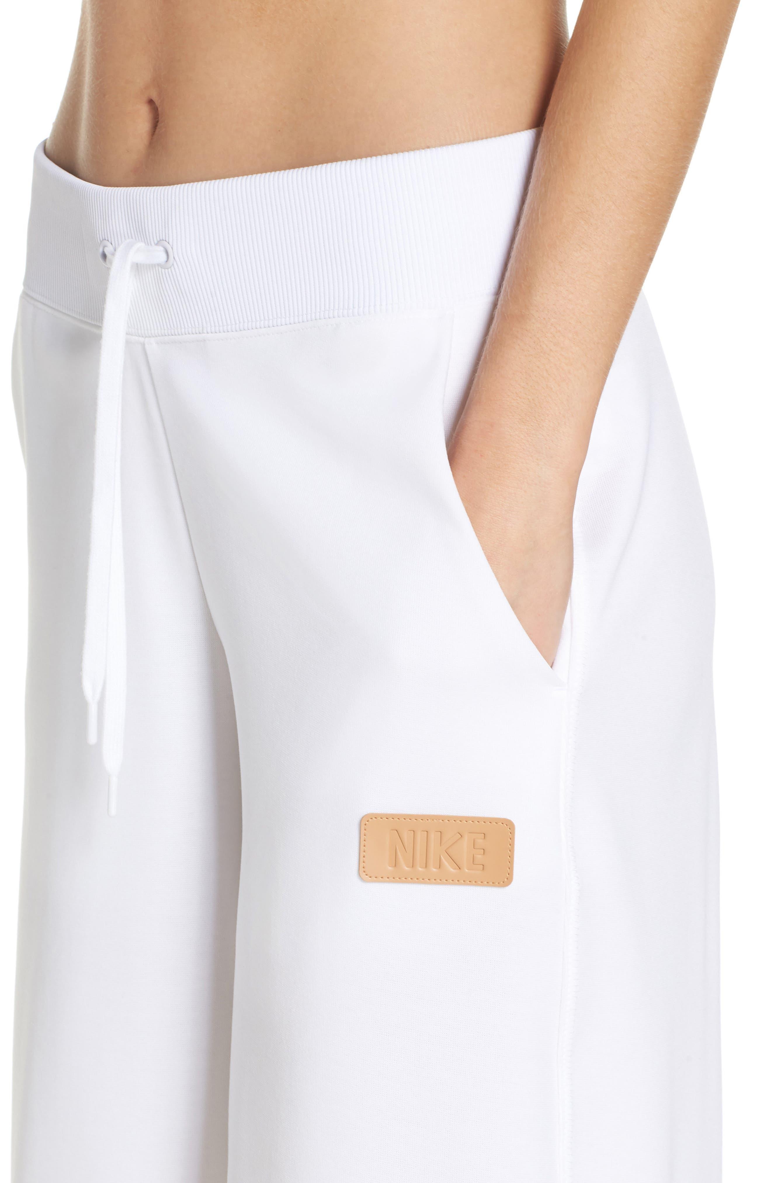 Sportswear Beautiful x Powerful Crop Pants,                             Alternate thumbnail 4, color,                             White