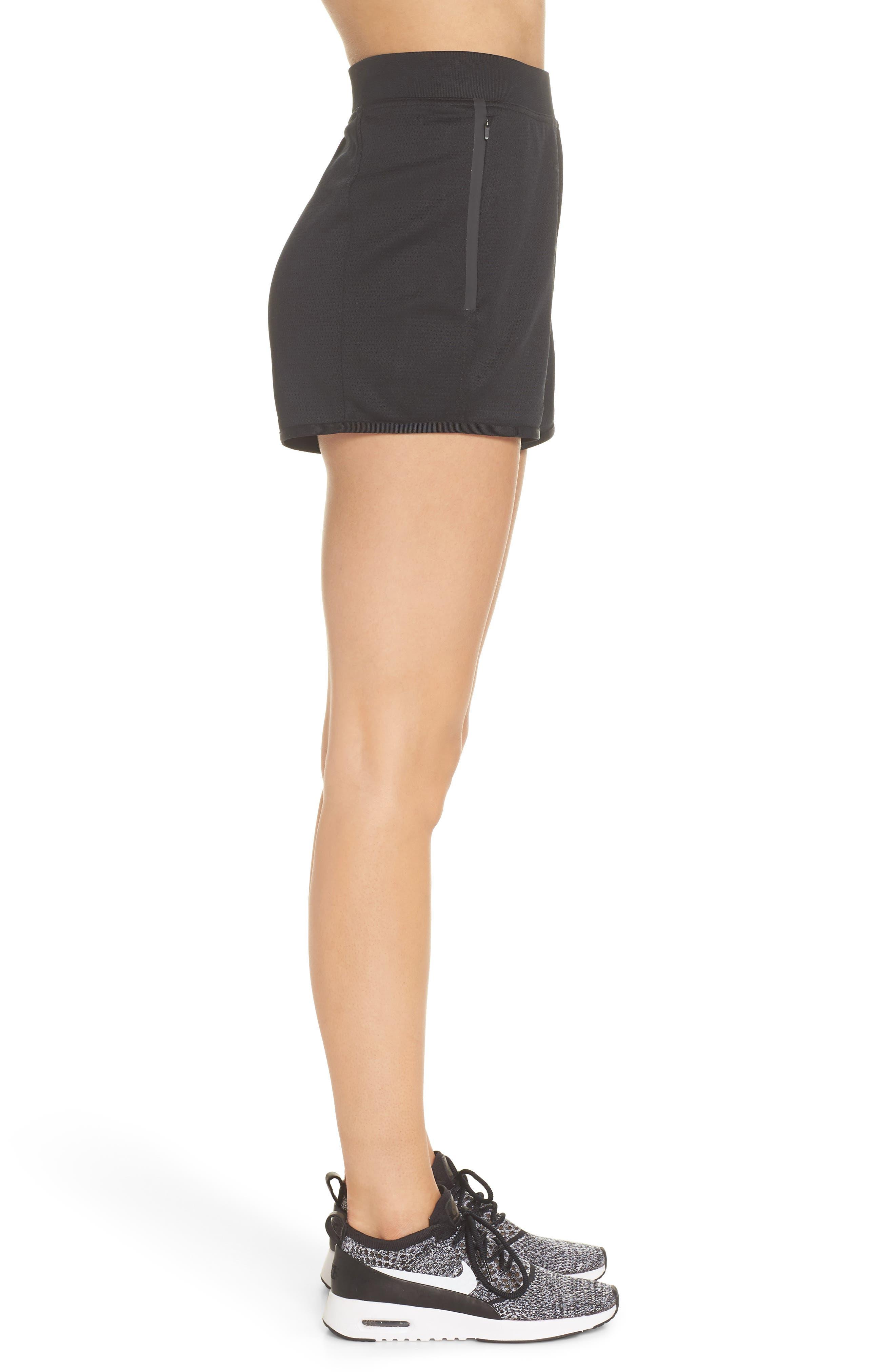Sportswear Tech Fleece Short,                             Alternate thumbnail 3, color,                             Black/ Black