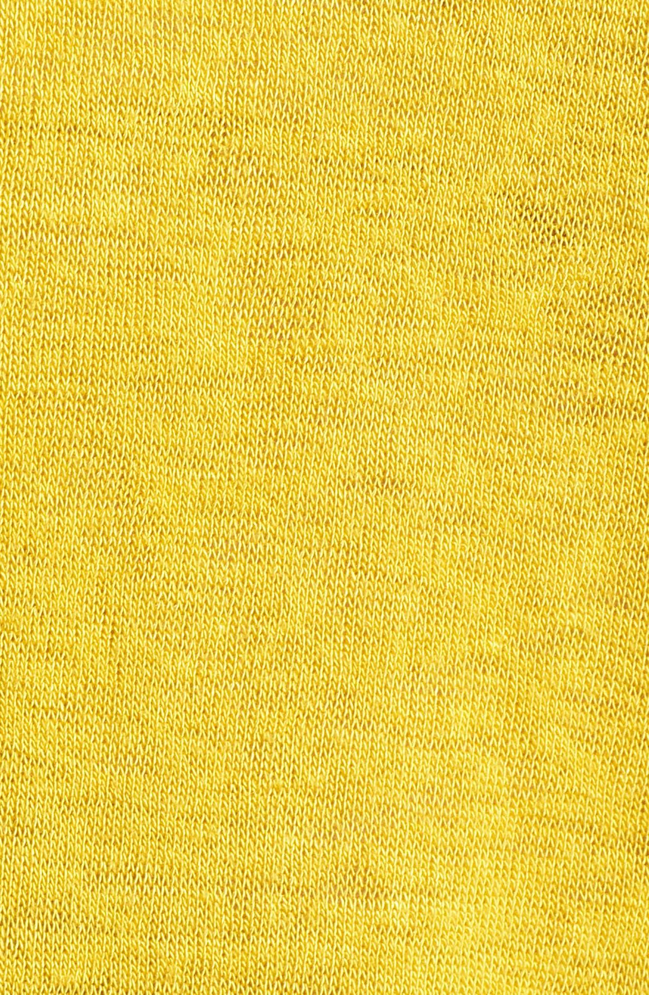 Tuck Sleeve Sweatshirt,                             Alternate thumbnail 5, color,                             Yellow Tea