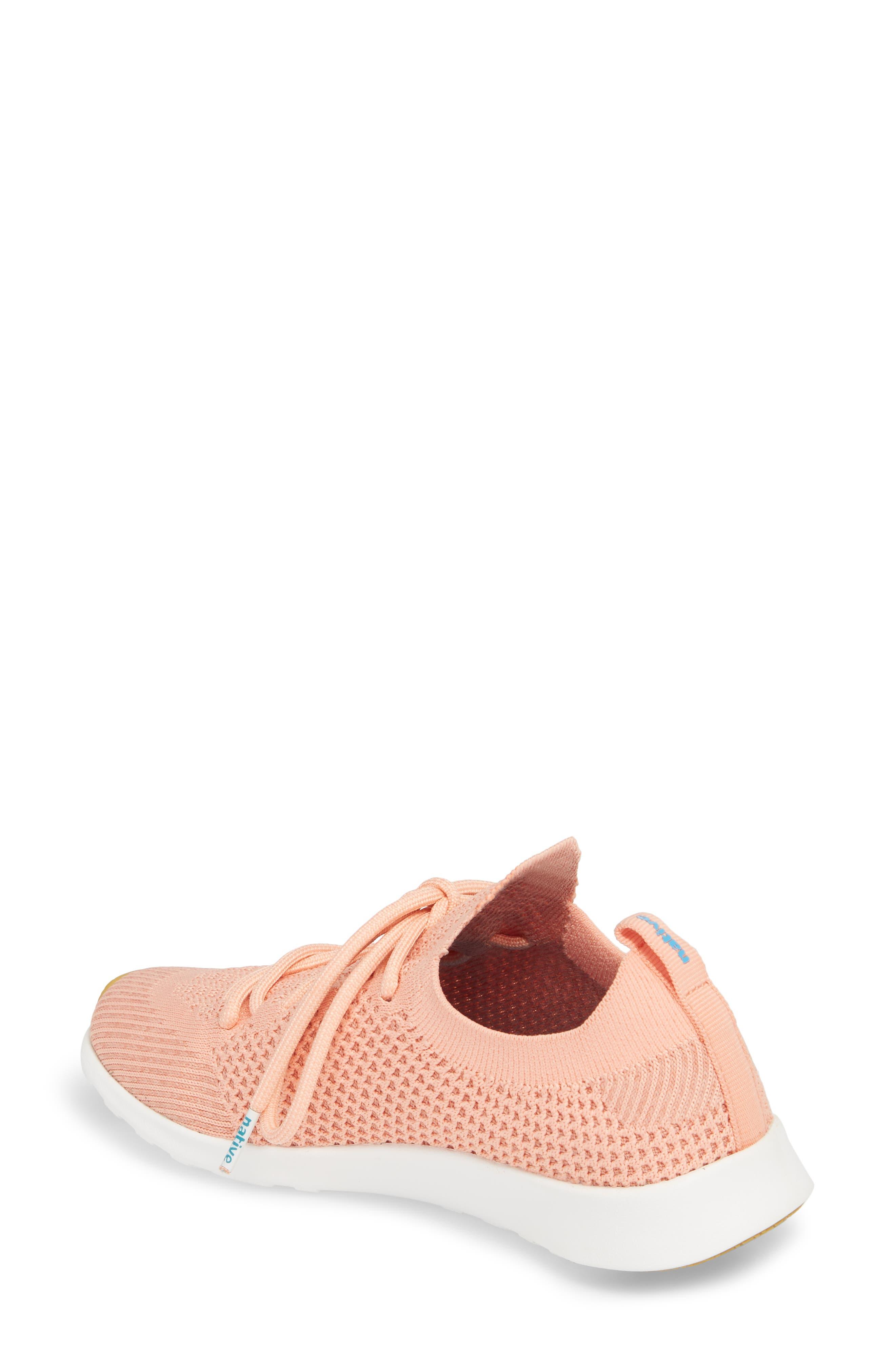 AP Mercury Liteknit Sneaker,                             Alternate thumbnail 2, color,                             Clay Pink/ Shell White