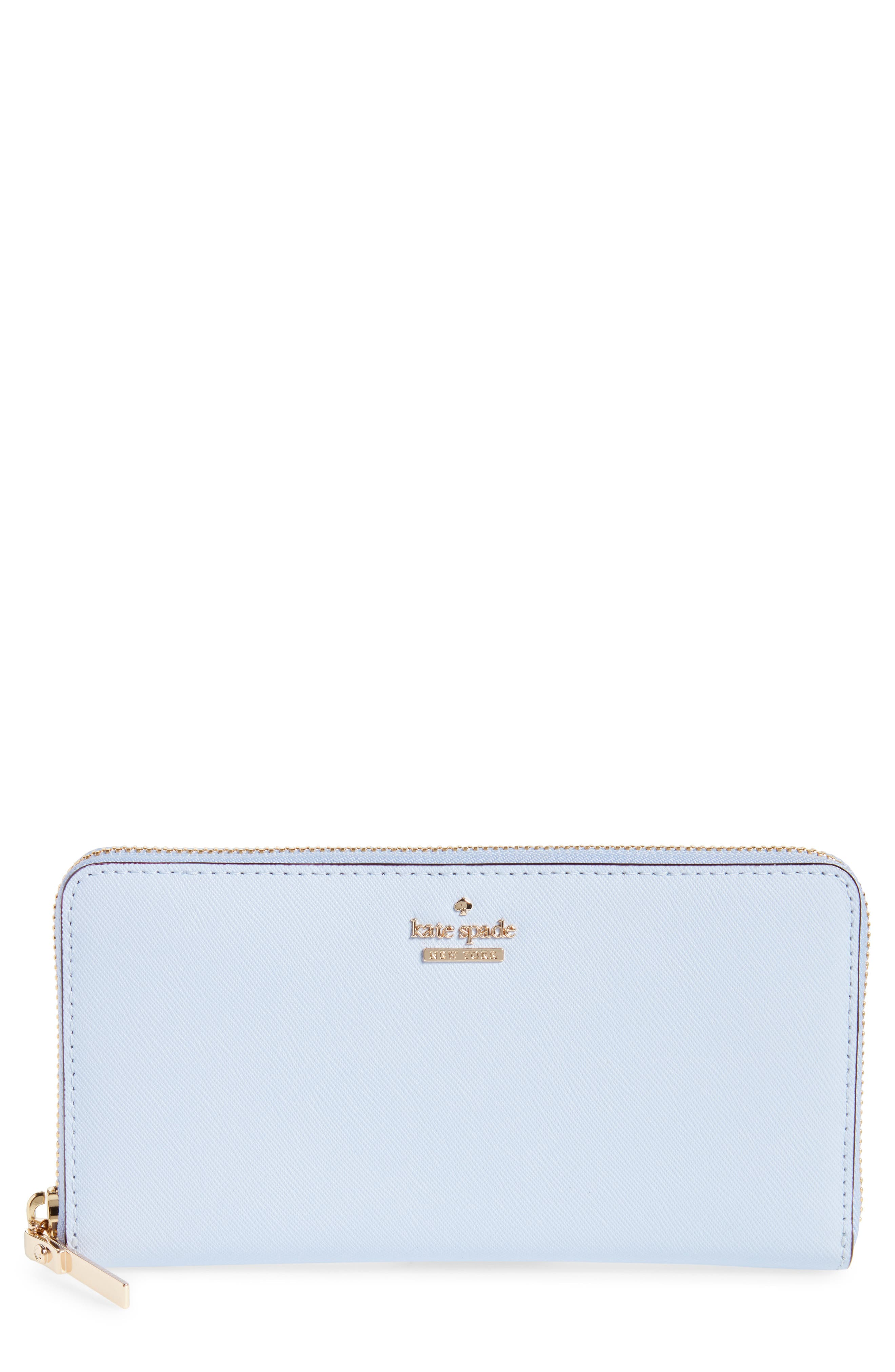 'cameron street - lacey' leather wallet,                             Main thumbnail 1, color,                             Morning Dawn