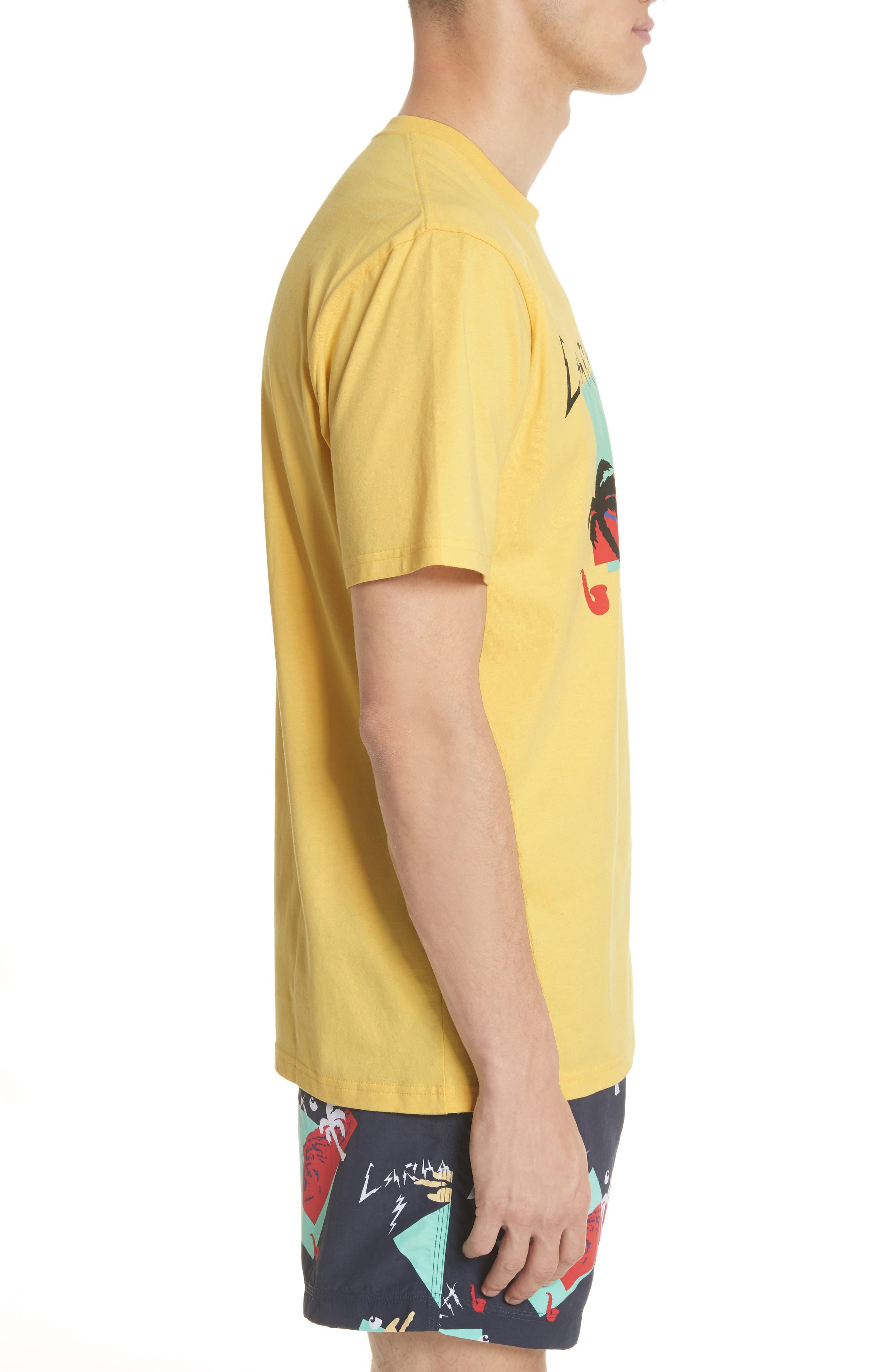 Anderson T-Shirt,                             Alternate thumbnail 3, color,                             Citrine