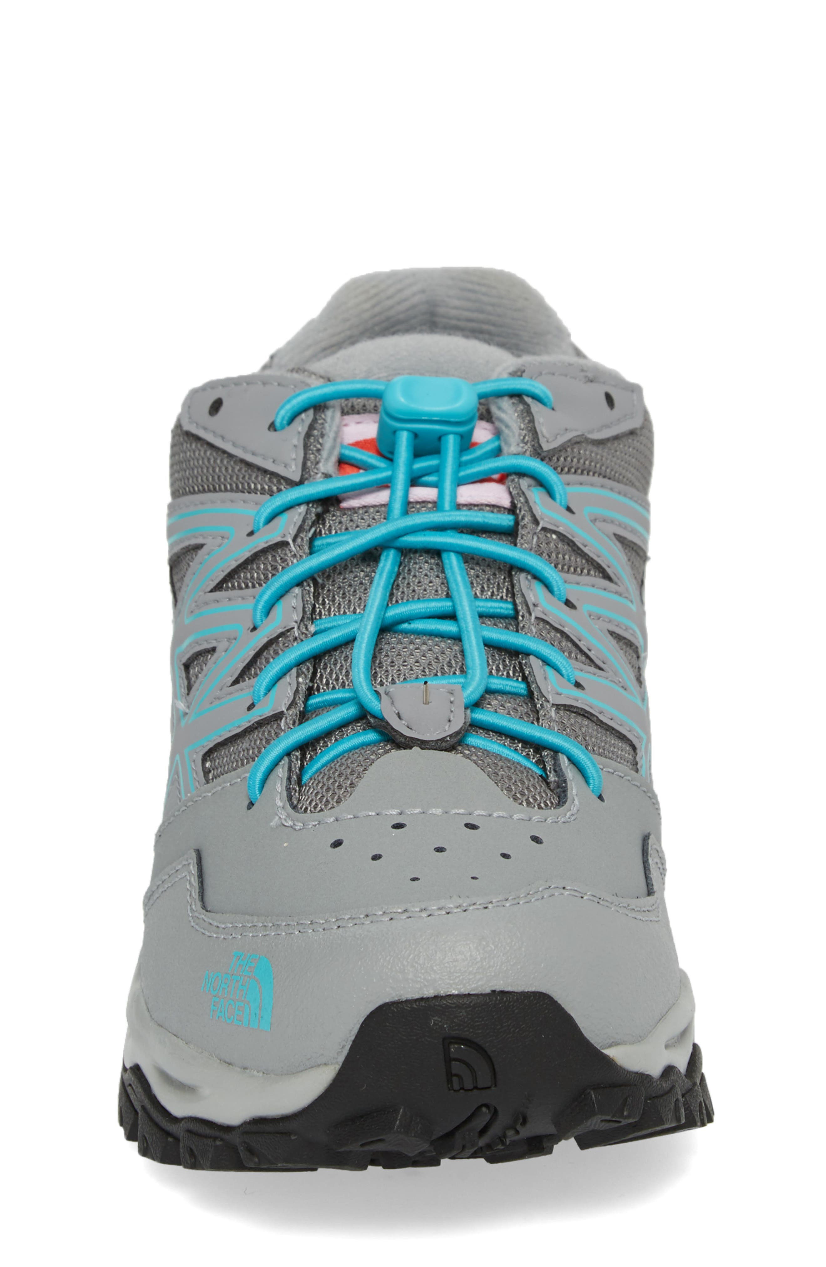 Hedgehog Hiker Boot,                             Alternate thumbnail 4, color,                             Griffin Grey/ Blue Curacao